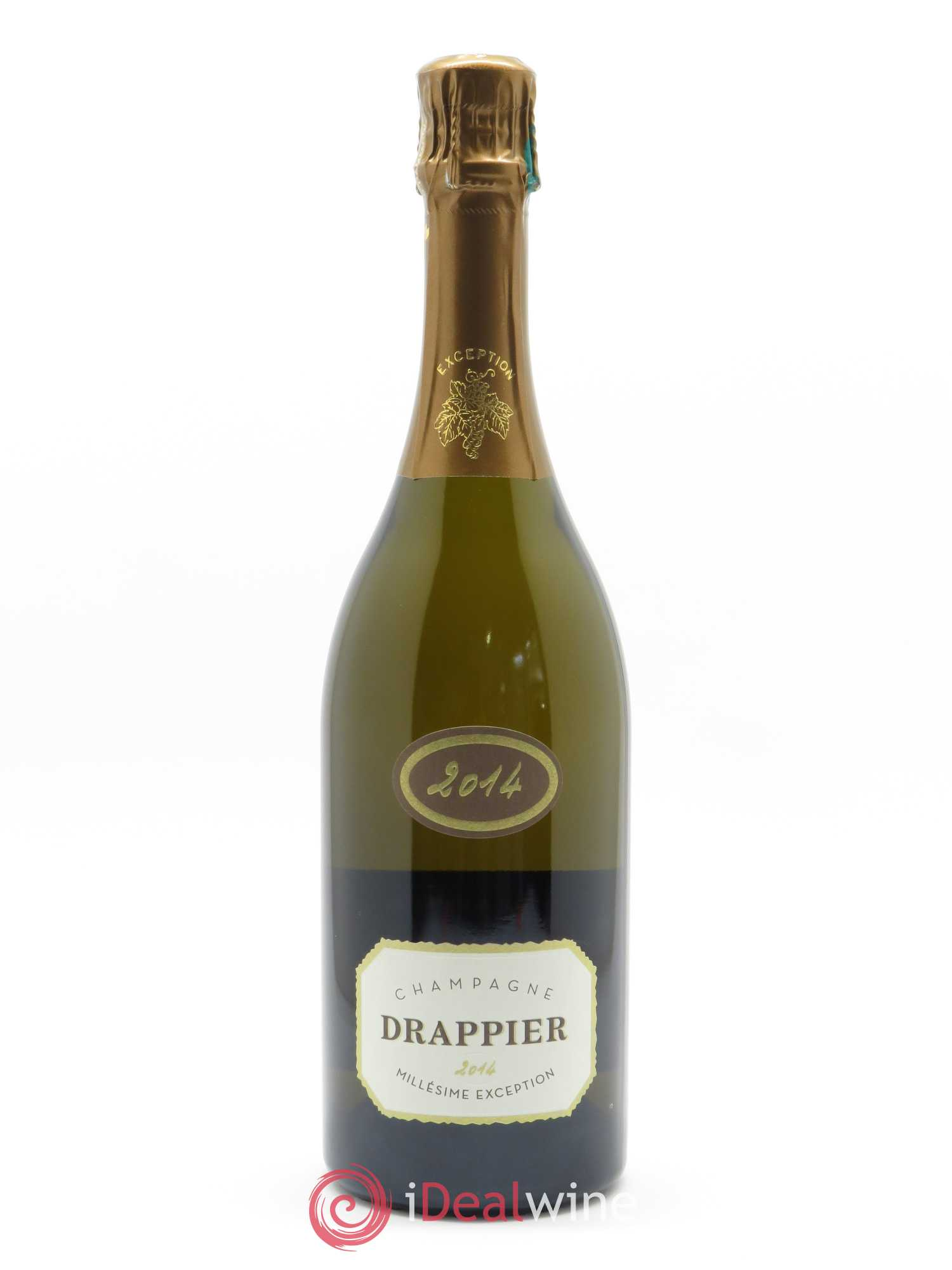 Millésime Exception Drappier  2014 - Lot of 1 Bottle