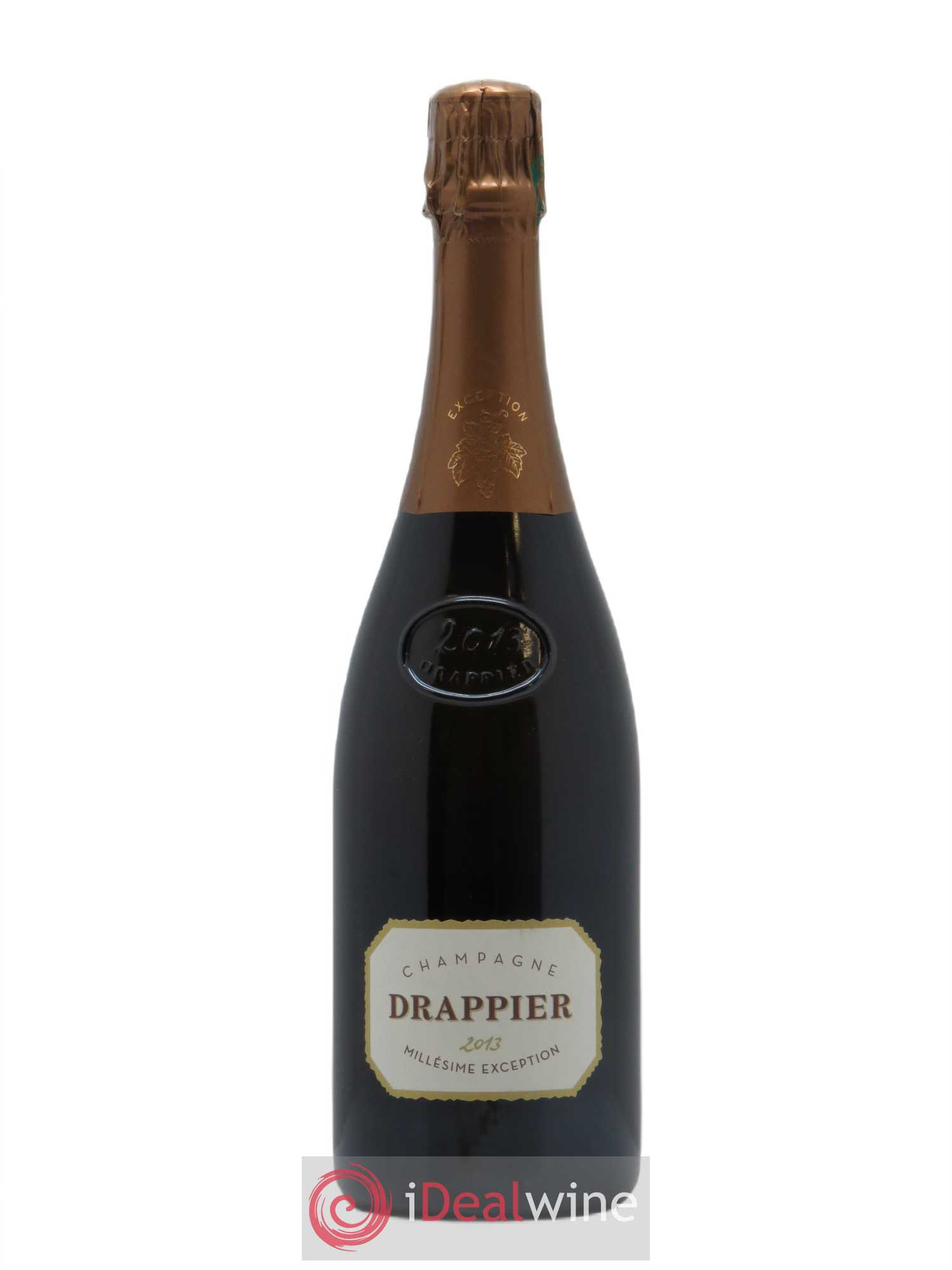 Millésime Exception Drappier  2013 - Lot of 1 Bottle