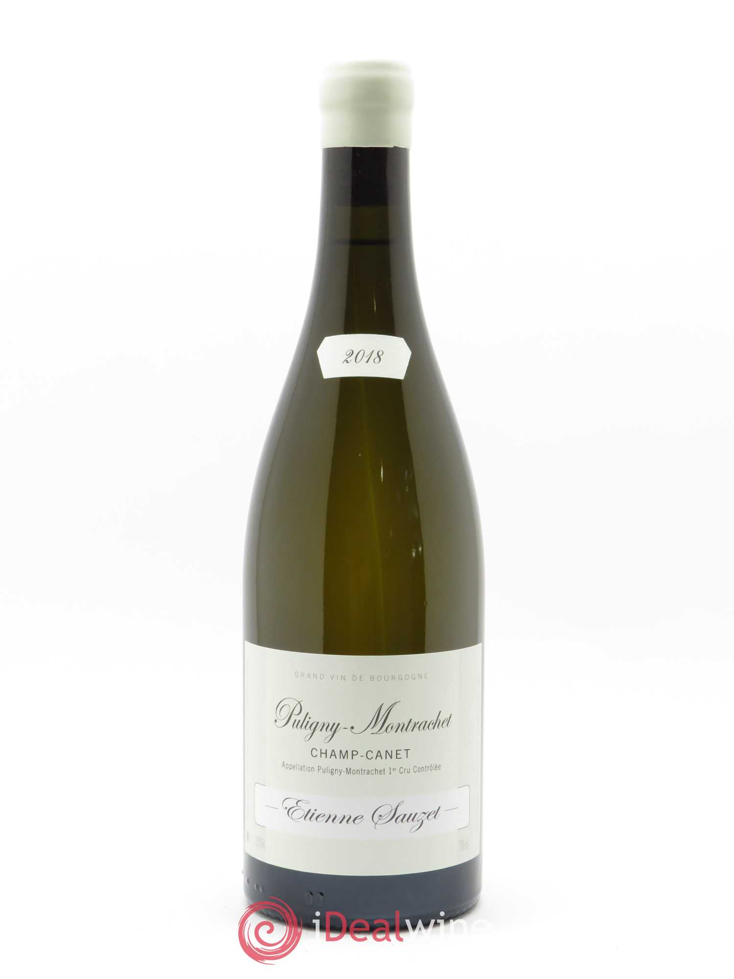 Puligny-Montrachet 1er Cru Champ Canet Etienne Sauzet  2018 - Lot of 1 Bottle