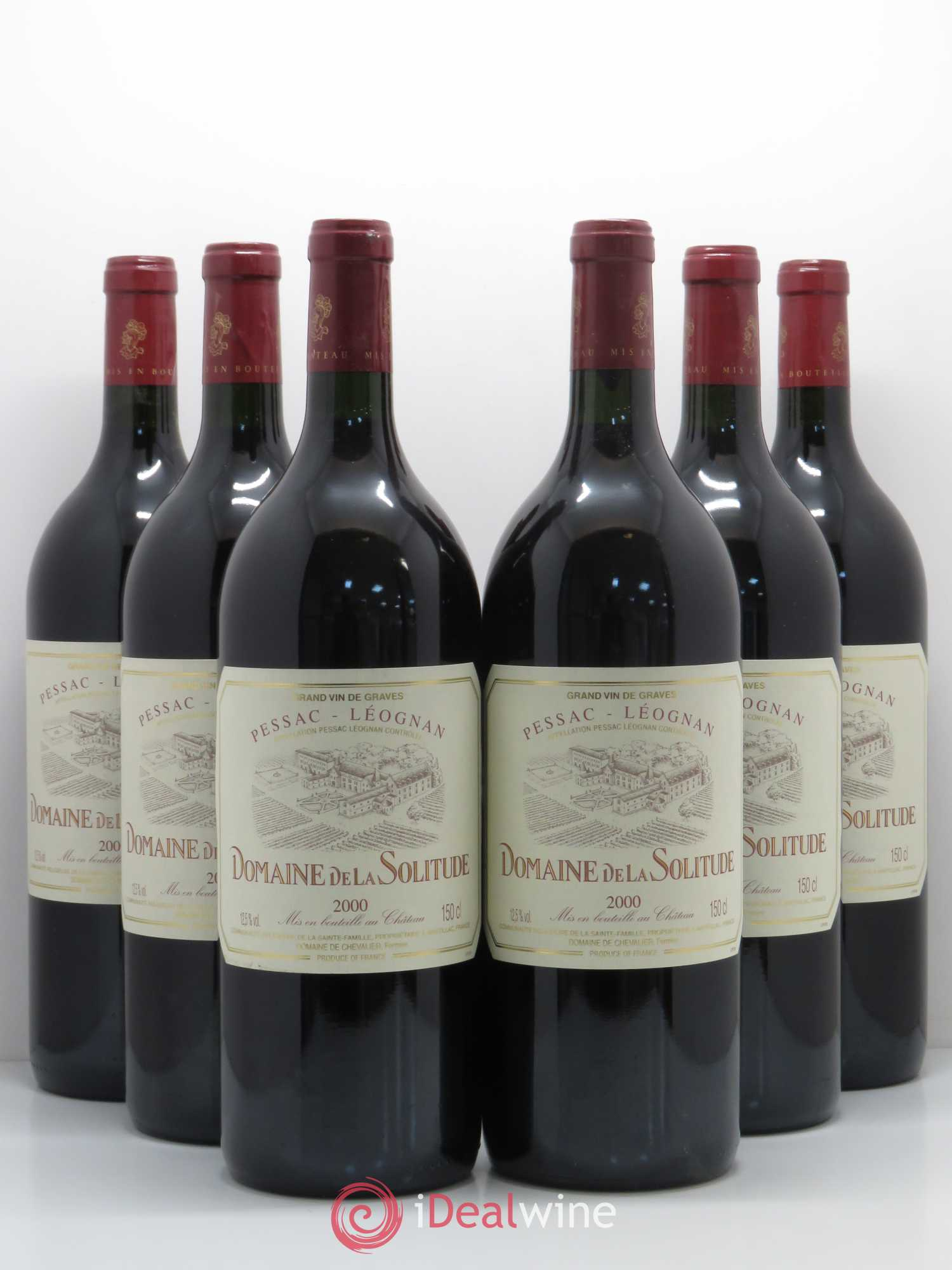 Domaine de la Solitude  2000 - Lot de 6 Magnums