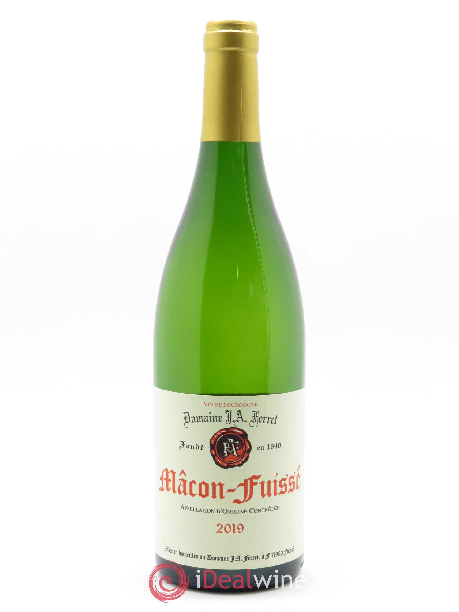 Mâcon-Fuissé J.A. Ferret (Domaine)  2019 - Lot of 1 Bottle