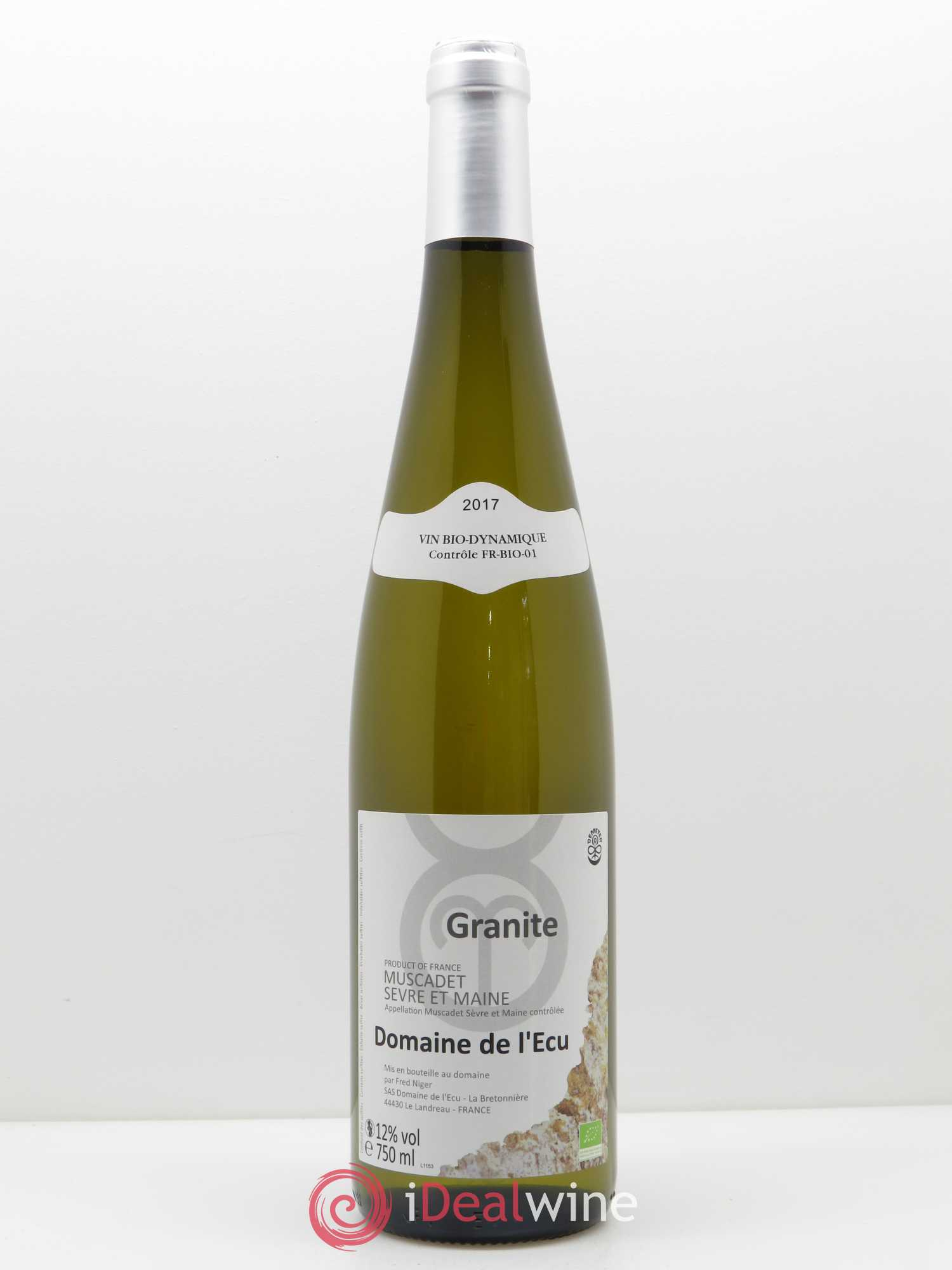 Muscadet-Sèvre-et-Maine Expression de Granite L'Ecu (Domaine de)  2017 - Lot of 1 Bottle