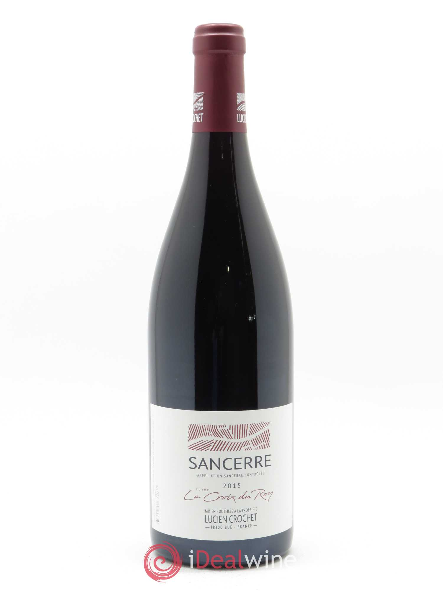 Sancerre Le Croix du Roy Lucien Crochet (Domaine)  2015 - Lot of 1 Bottle