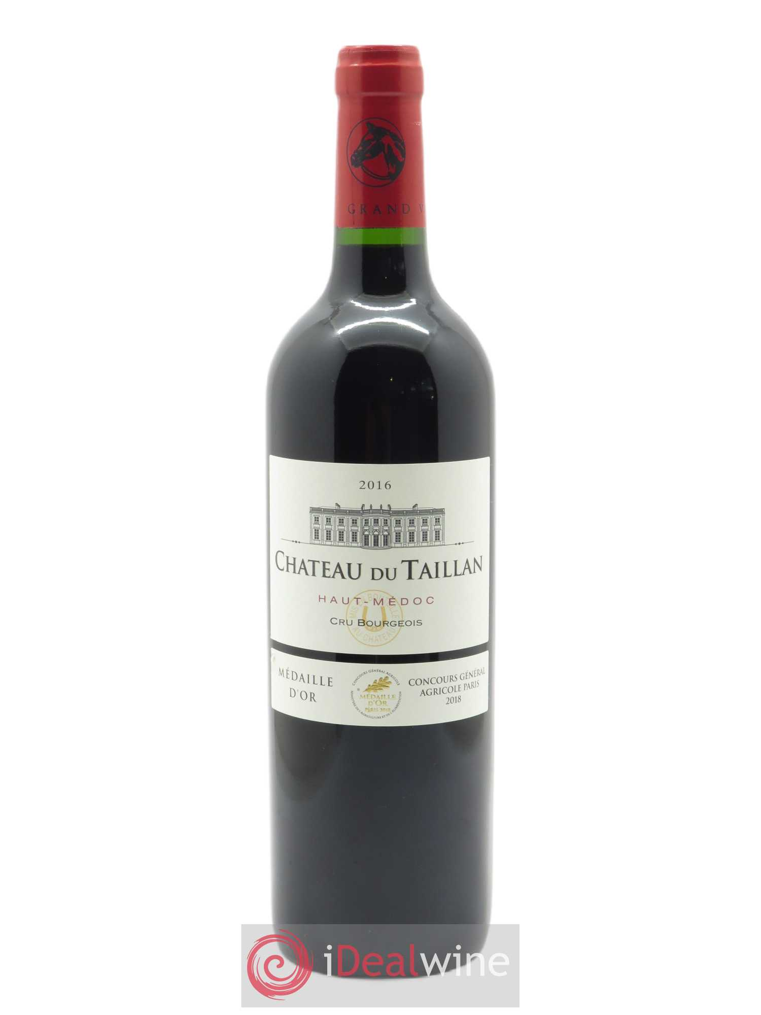 Château du Taillan Cru Bourgeois  2016 - Lot of 1 Bottle