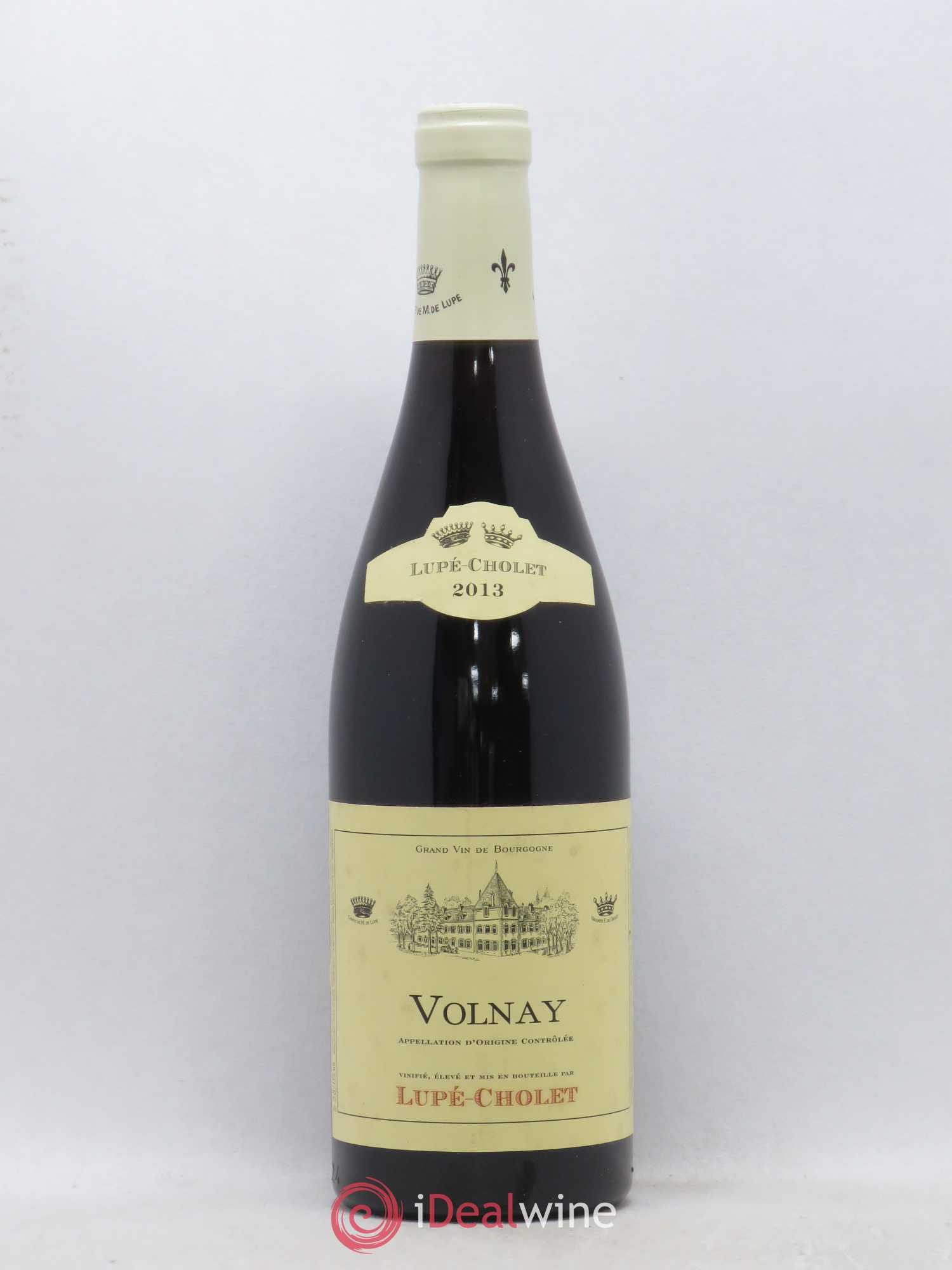 Volnay Domaine Lupé Cholet (no reserve) 2013 - Lot of 1 Bottle