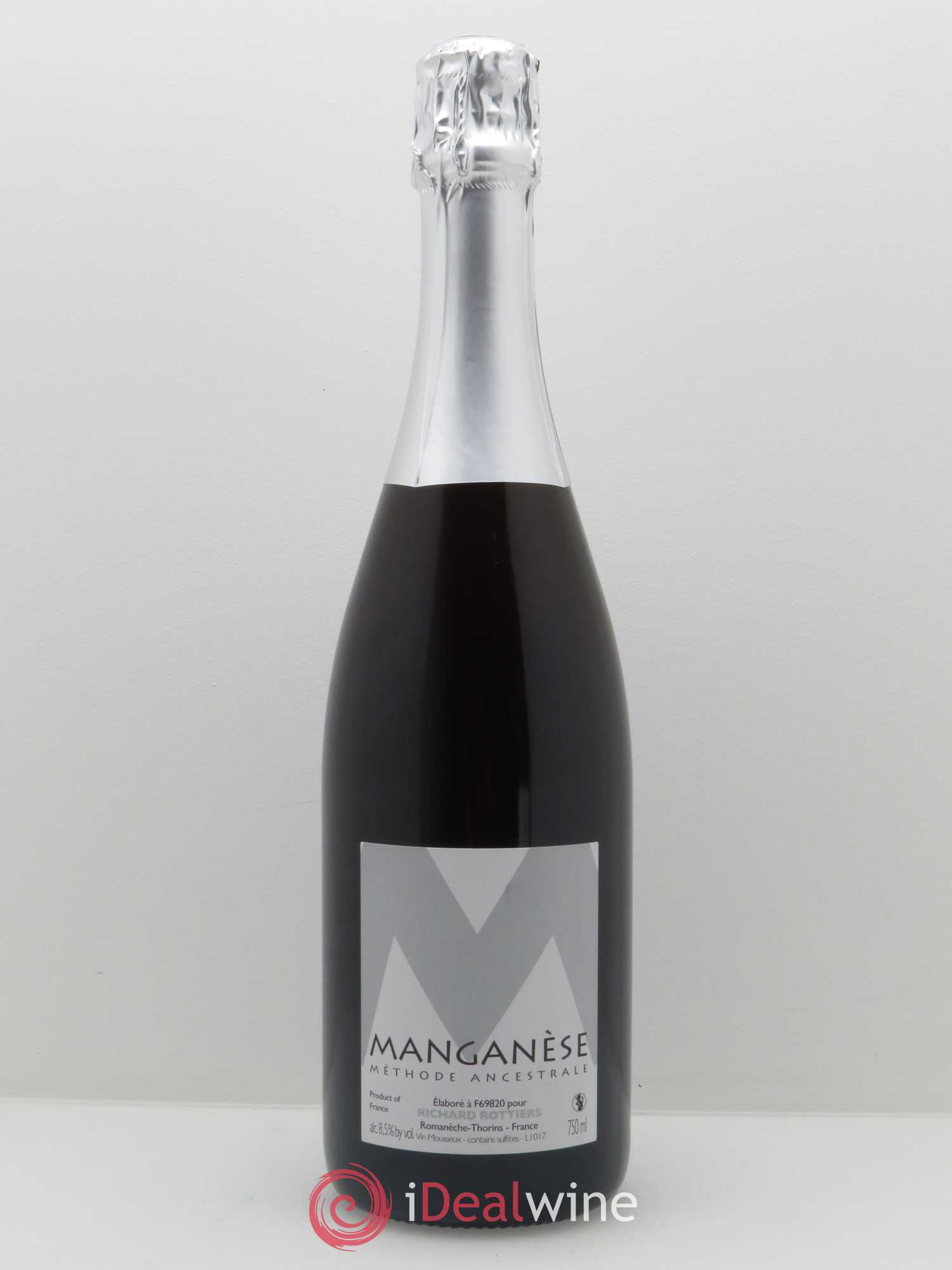 Vin de France Manganese Richard Rottiers (Domaine)   - Lot de 1 Bouteille