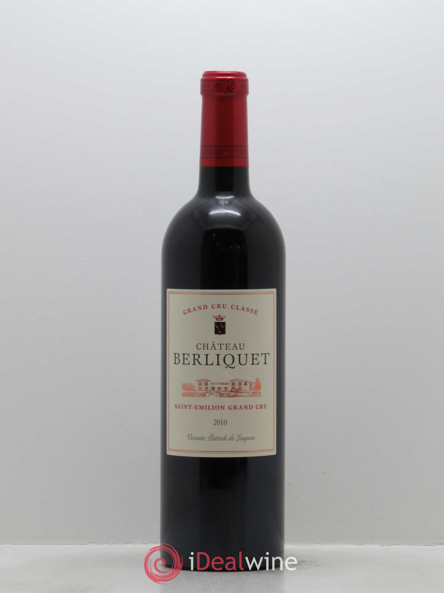 Château Berliquet Grand Cru Classé  2010 - Lot of 1 Bottle
