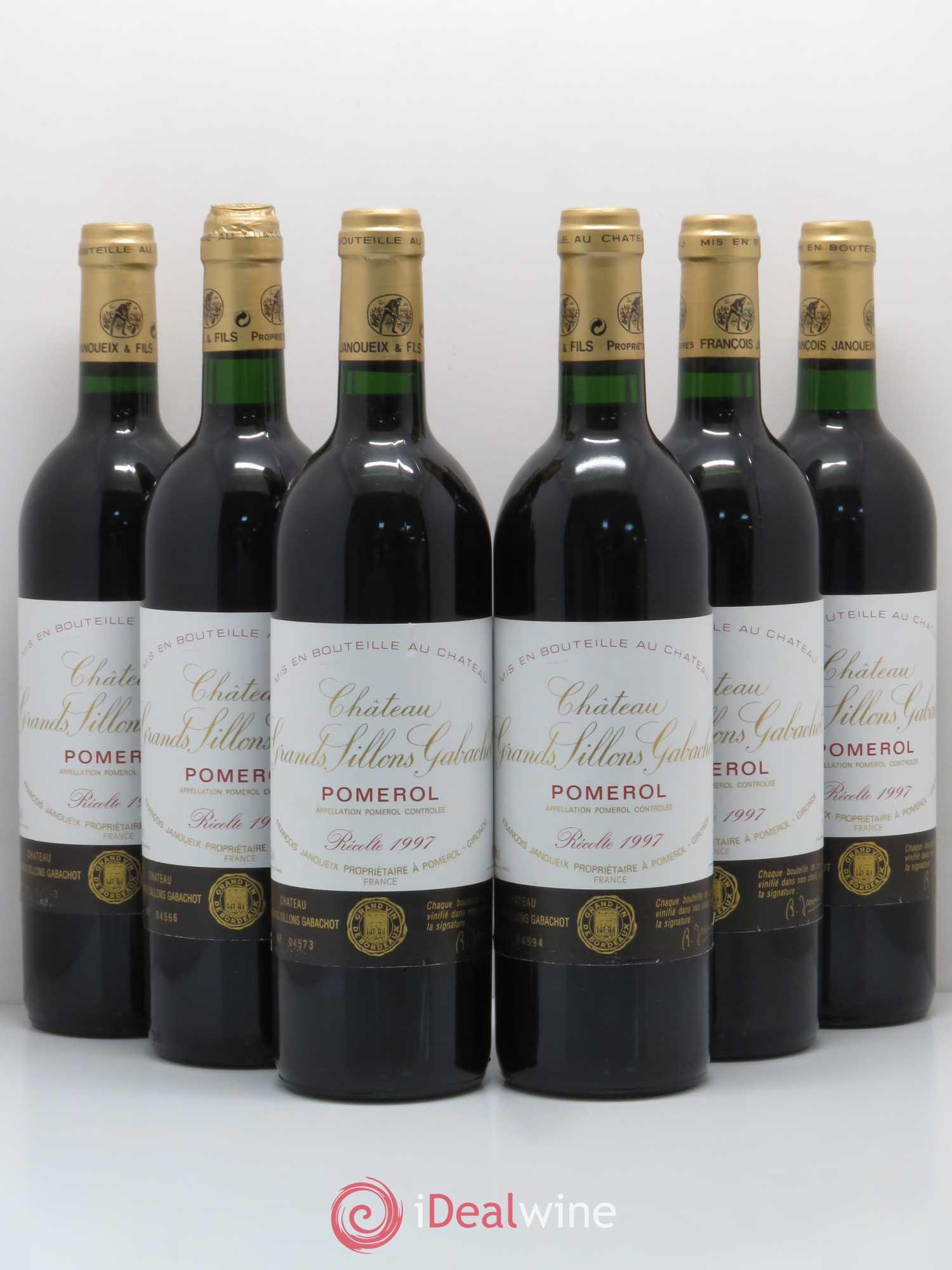 - Pomerol Château Grands Sillons Gabachot 1997