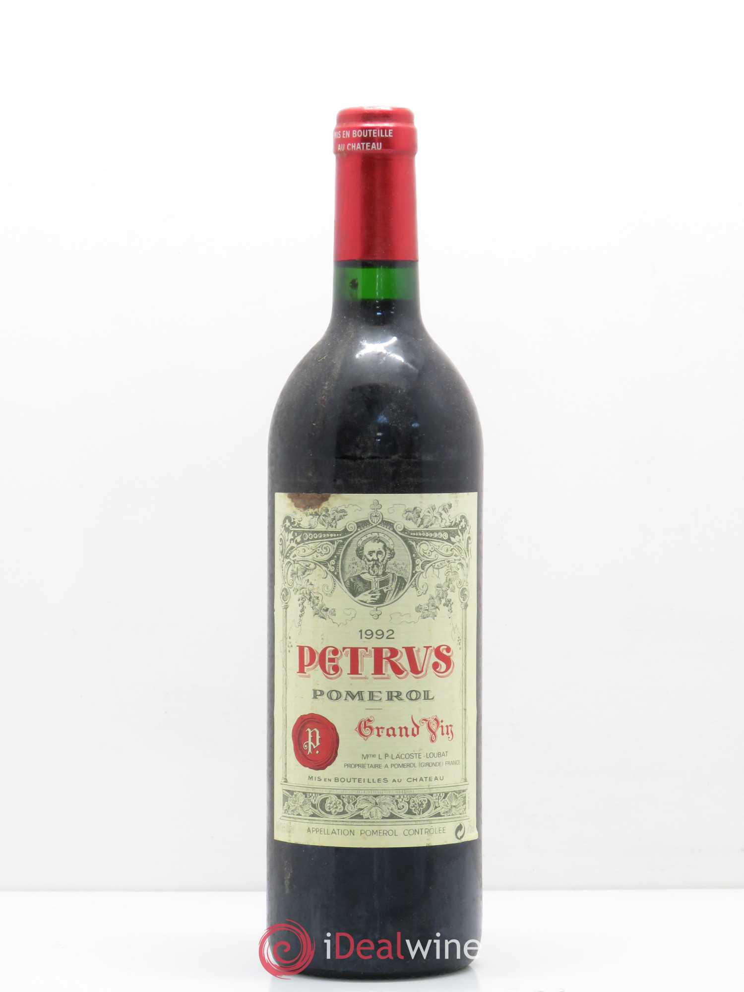 Petrus  1992 - Lot of 1 Bottle