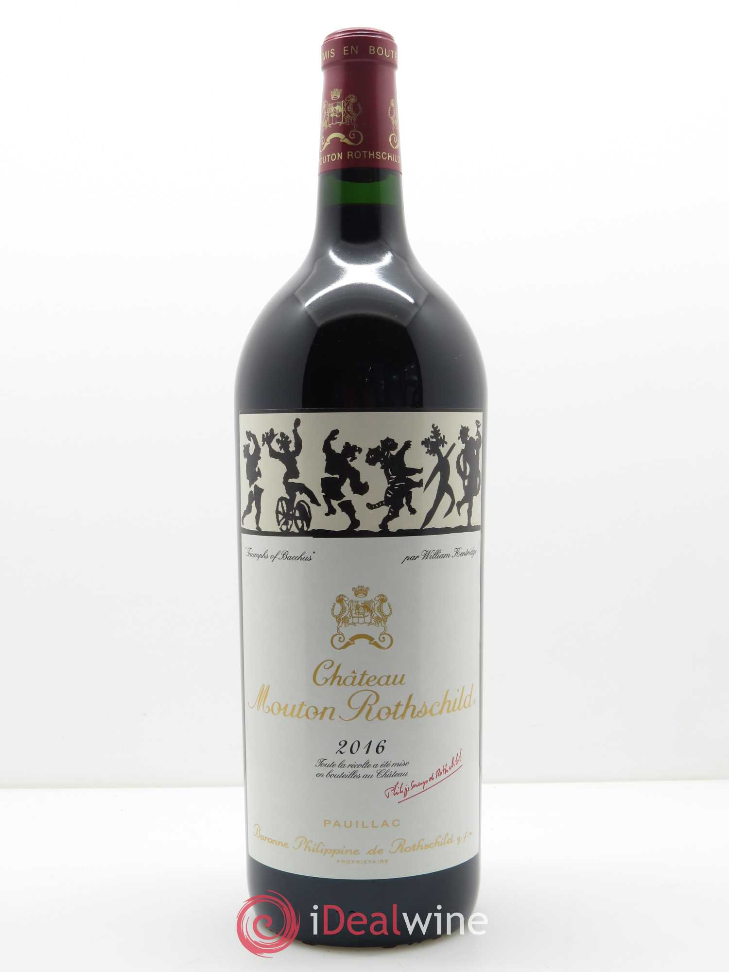 Château Mouton Rothschild 1er Grand Cru Classé  2016 - Lot de 1 Magnum