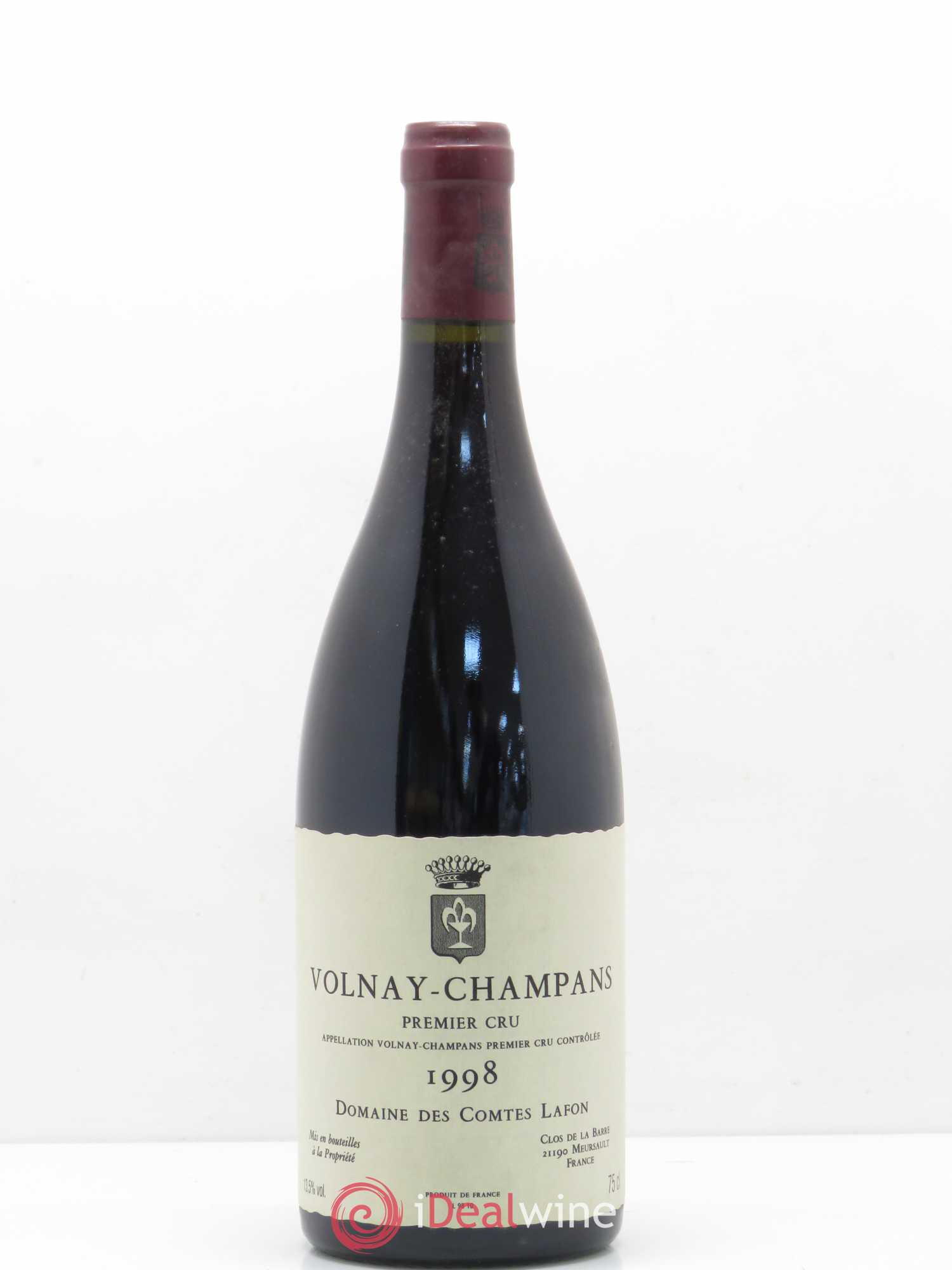 Volnay 1er Cru Champans Comtes Lafon (Domaine des)  1998 - Lot of 1 Bottle