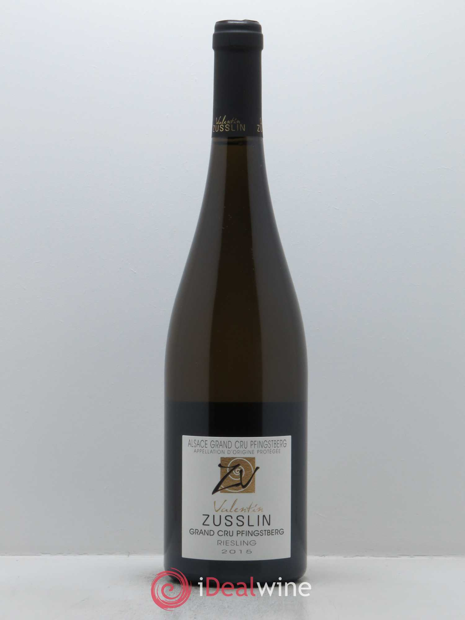 Riesling Grand Cru Pfingstberg Valentin Zusslin (Domaine)  2015 - Lot of 1 Bottle
