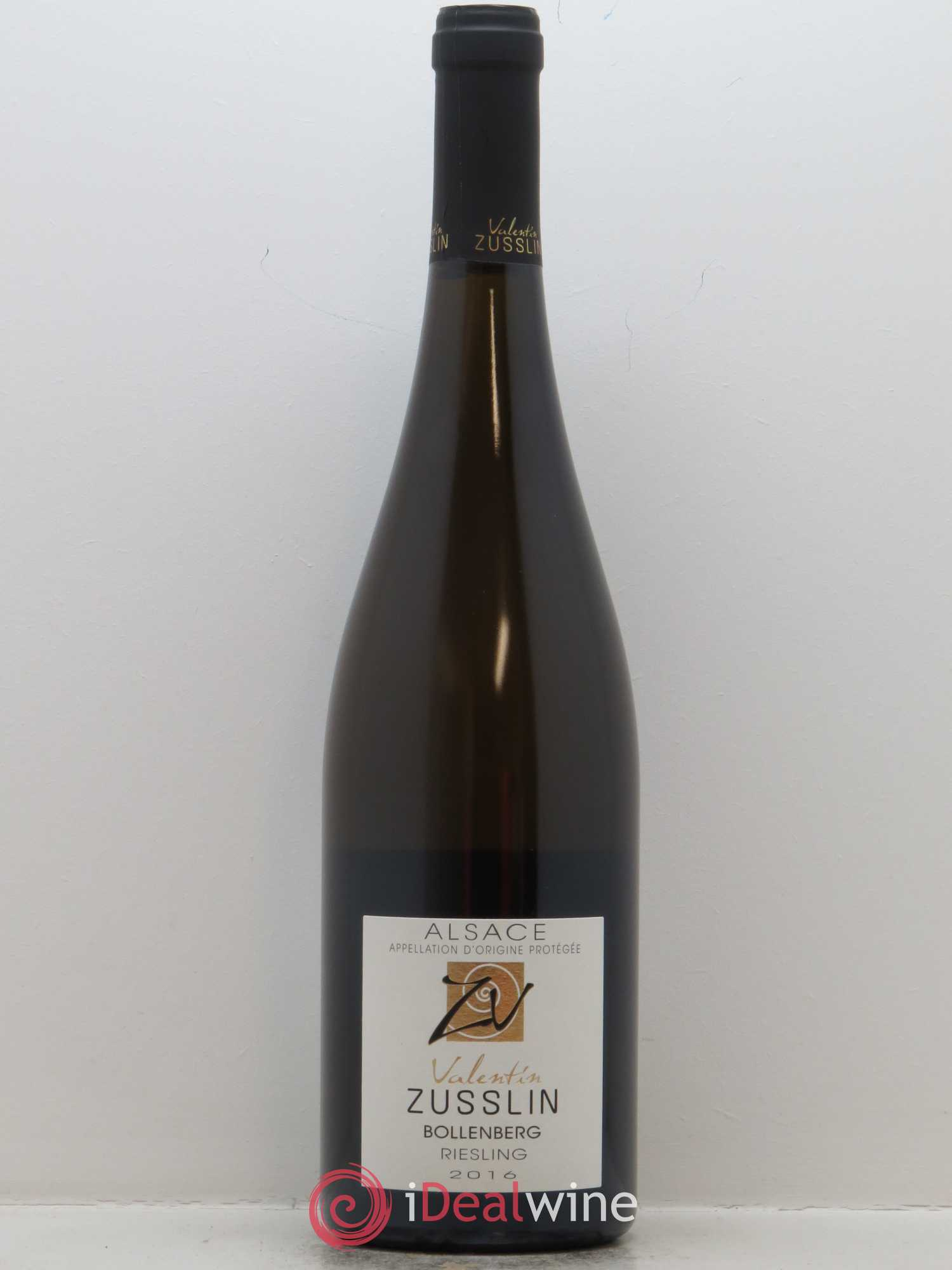 Riesling Bollenberg Valentin Zusslin (Domaine)  2016 - Lot of 1 Bottle