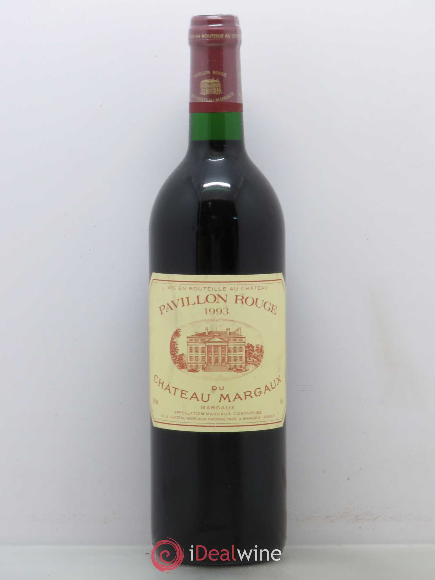 Pavillon Rouge du Château Margaux Second Vin (no reserve) 1993 - Lot of 1 Bottle