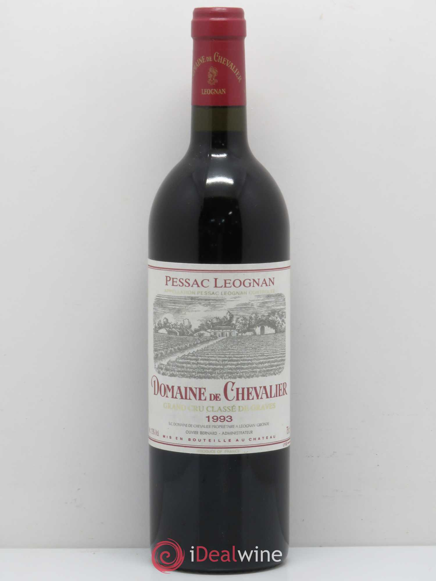 Domaine de Chevalier Cru Classé de Graves  1993 - Lot of 1 Bottle