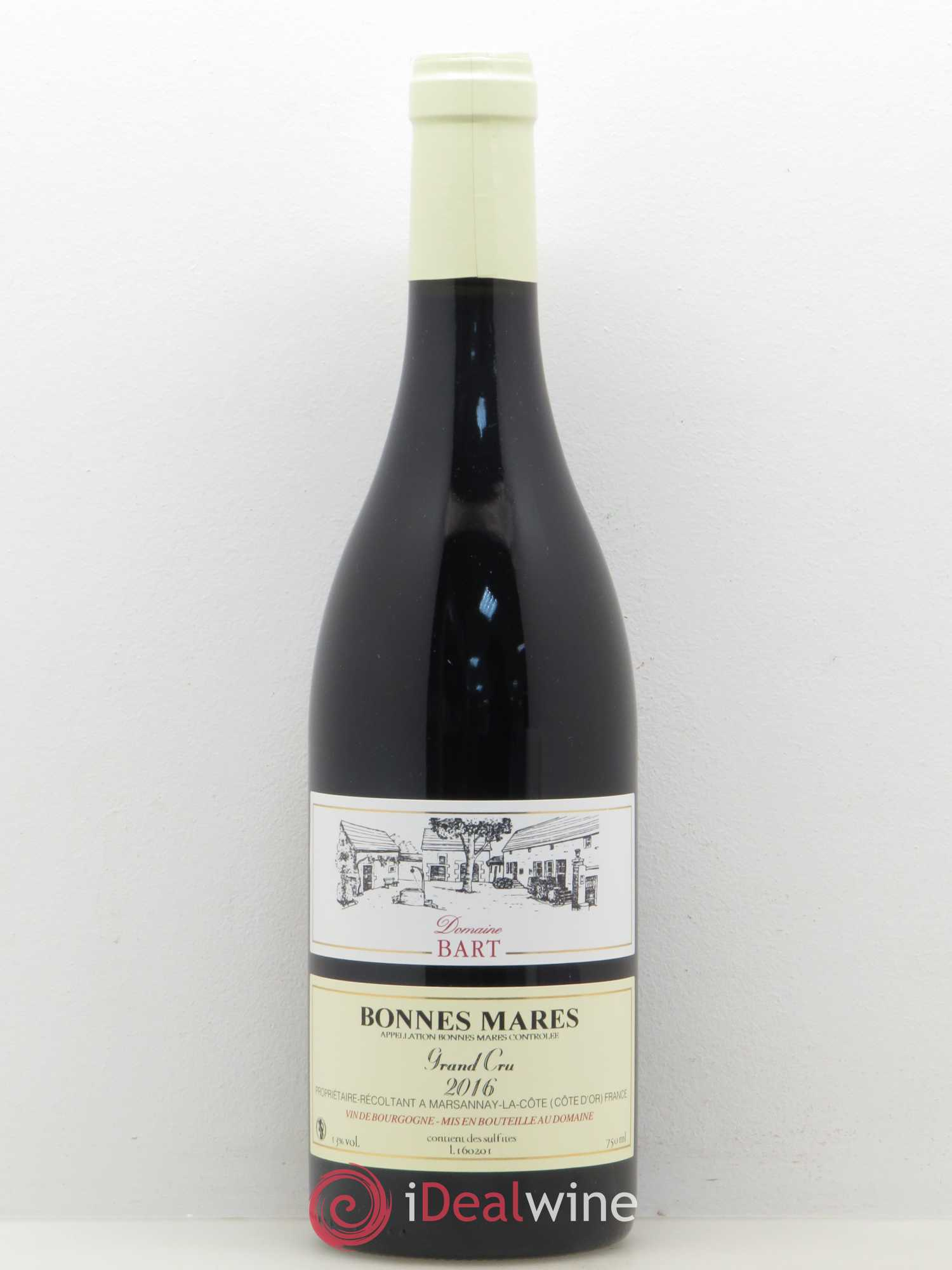 Bonnes-Mares Grand Cru Domaine Bart (no reserve) 2016 - Lot of 1 Bottle