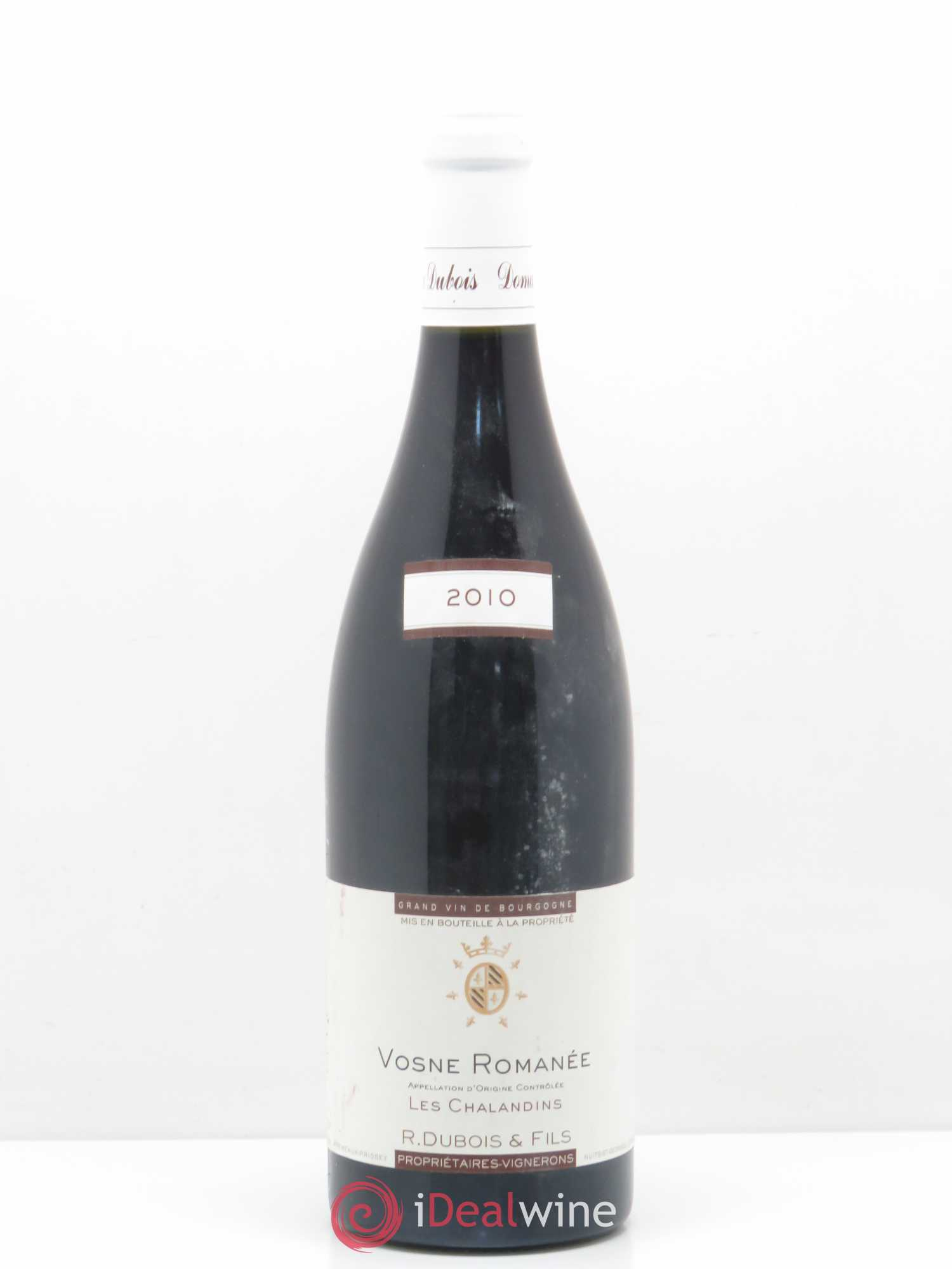 Vosne-Romanée Chalandins - R.Dubois 2010 - Lot of 1 Bottle