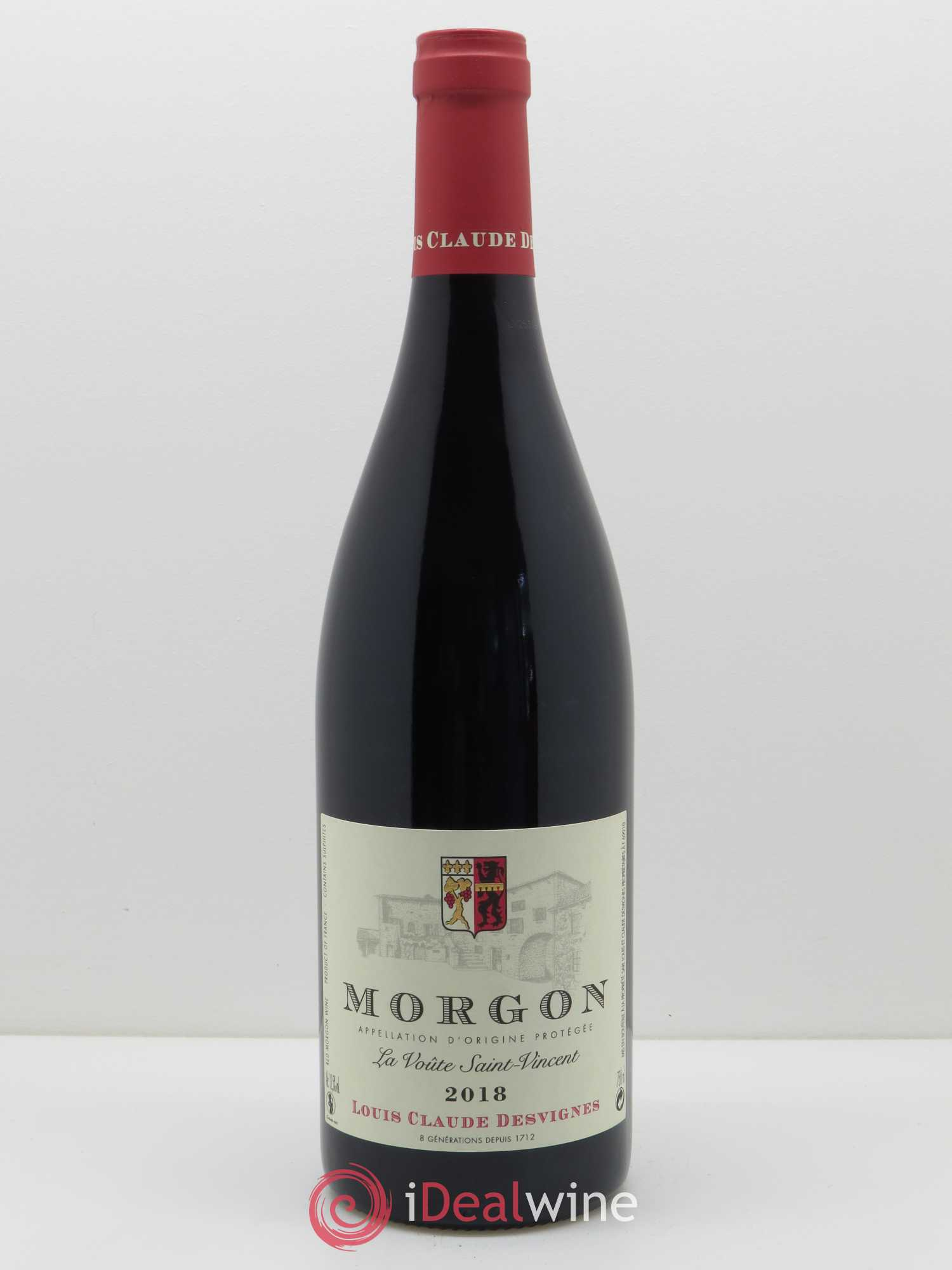 Morgon La Voûte Saint Vincent Louis-Claude Desvignes (Domaine)  2018 - Lot of 1 Bottle