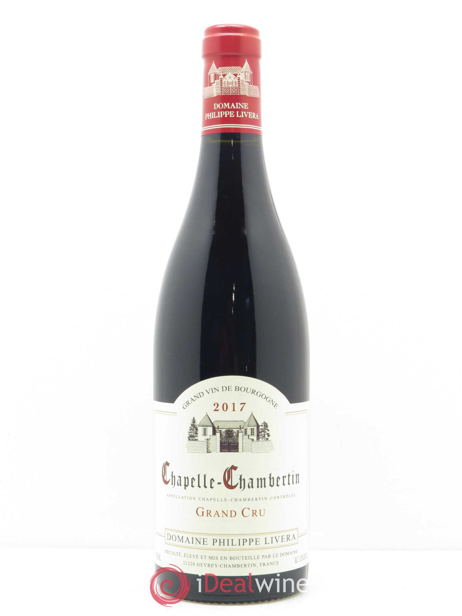 Chapelle-Chambertin Grand Cru Tilleuls (Domaine des) - Philippe Livera  2017 - Lot of 1 Bottle