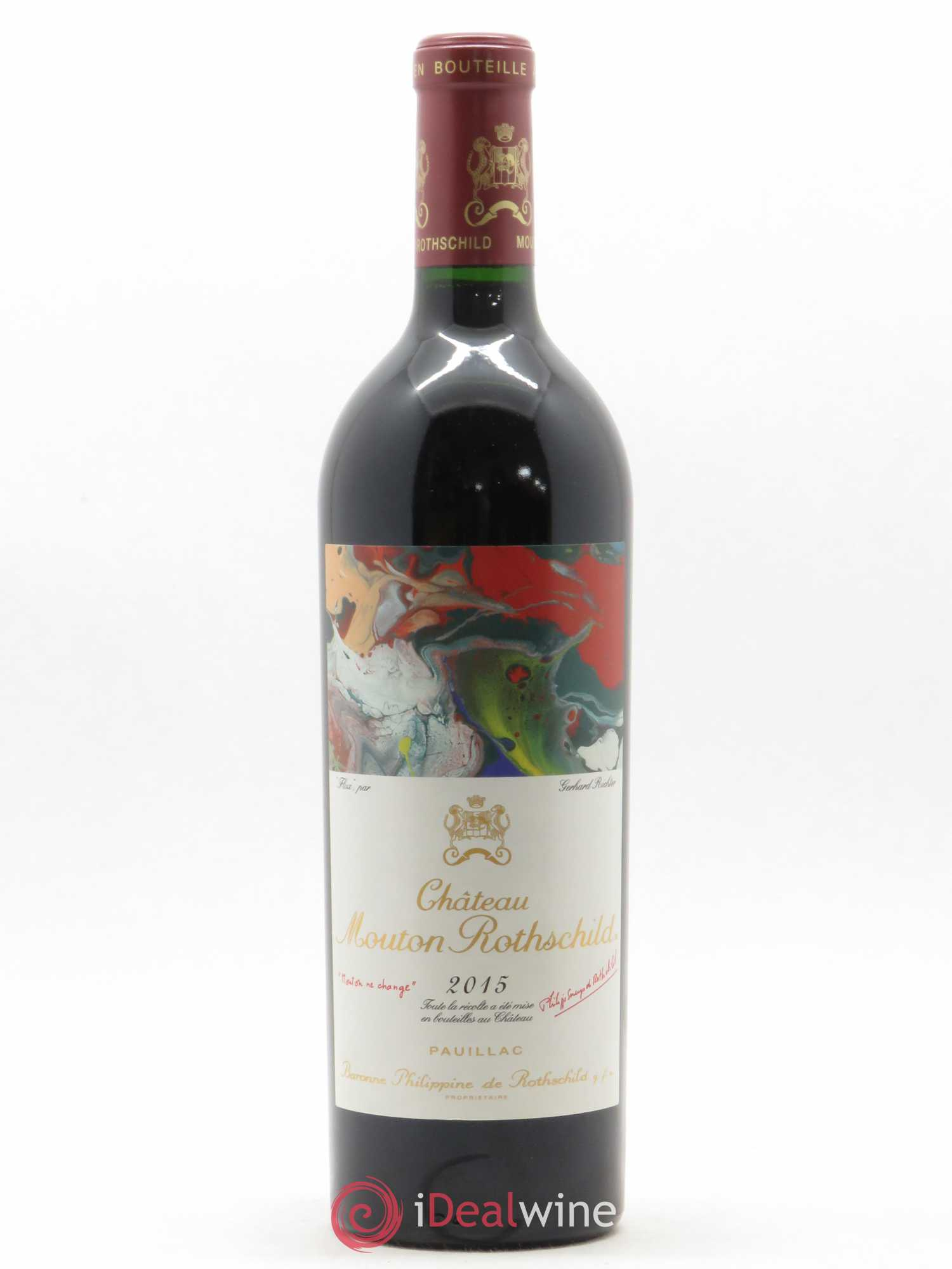Château Mouton Rothschild 1er Grand Cru Classé  2015 - Lot of 1 Bottle
