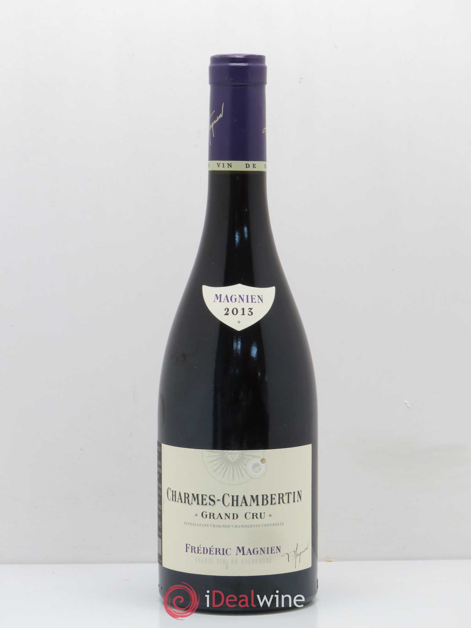 Charmes-Chambertin Grand Cru Frédéric Magnien (Domaine)  2013 - Lot of 1 Bottle