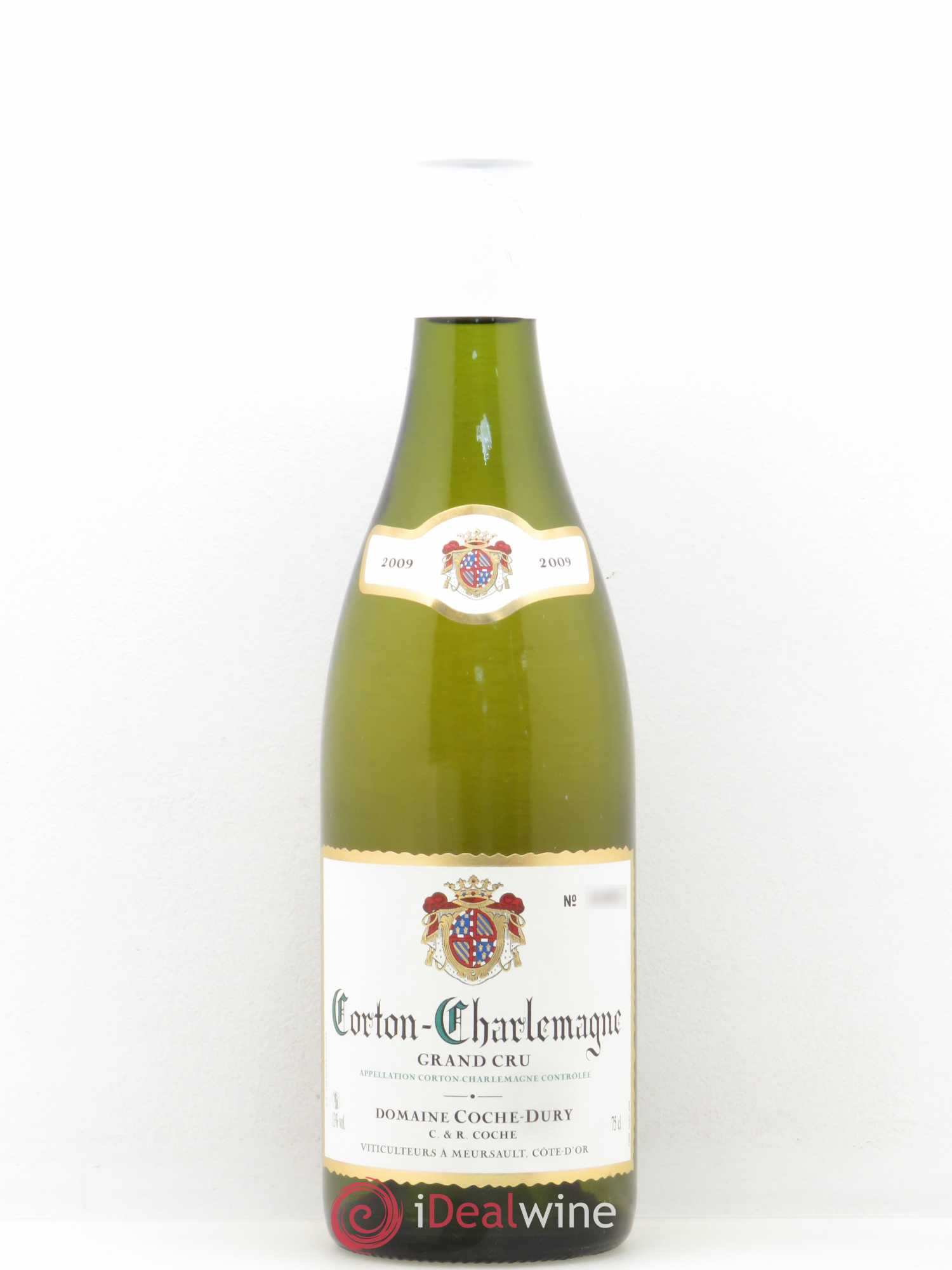 Corton-Charlemagne Grand Cru Coche Dury (Domaine)  2009 - Lot of 1 Bottle