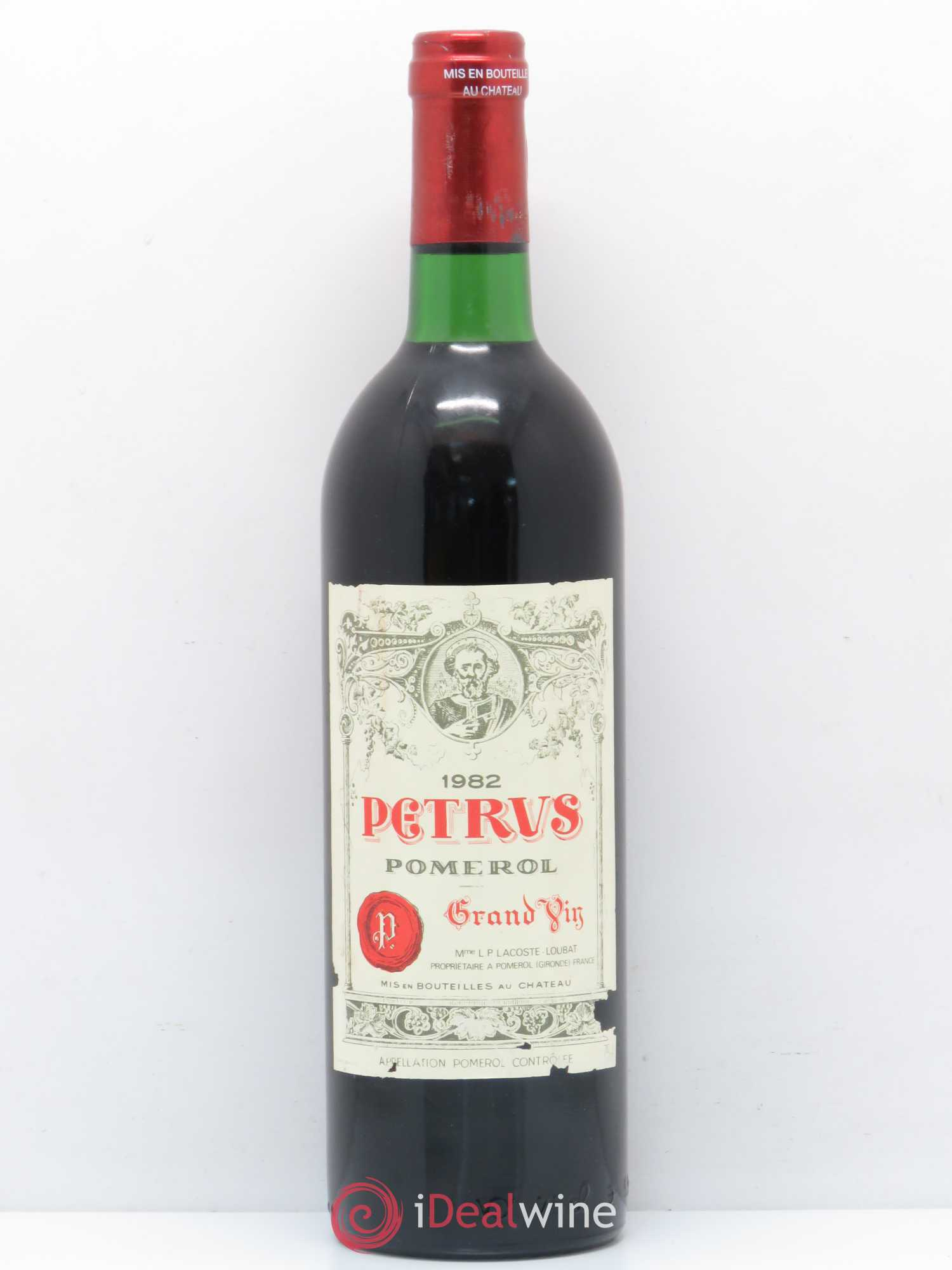 Petrus  1982 - Lot of 1 Bottle