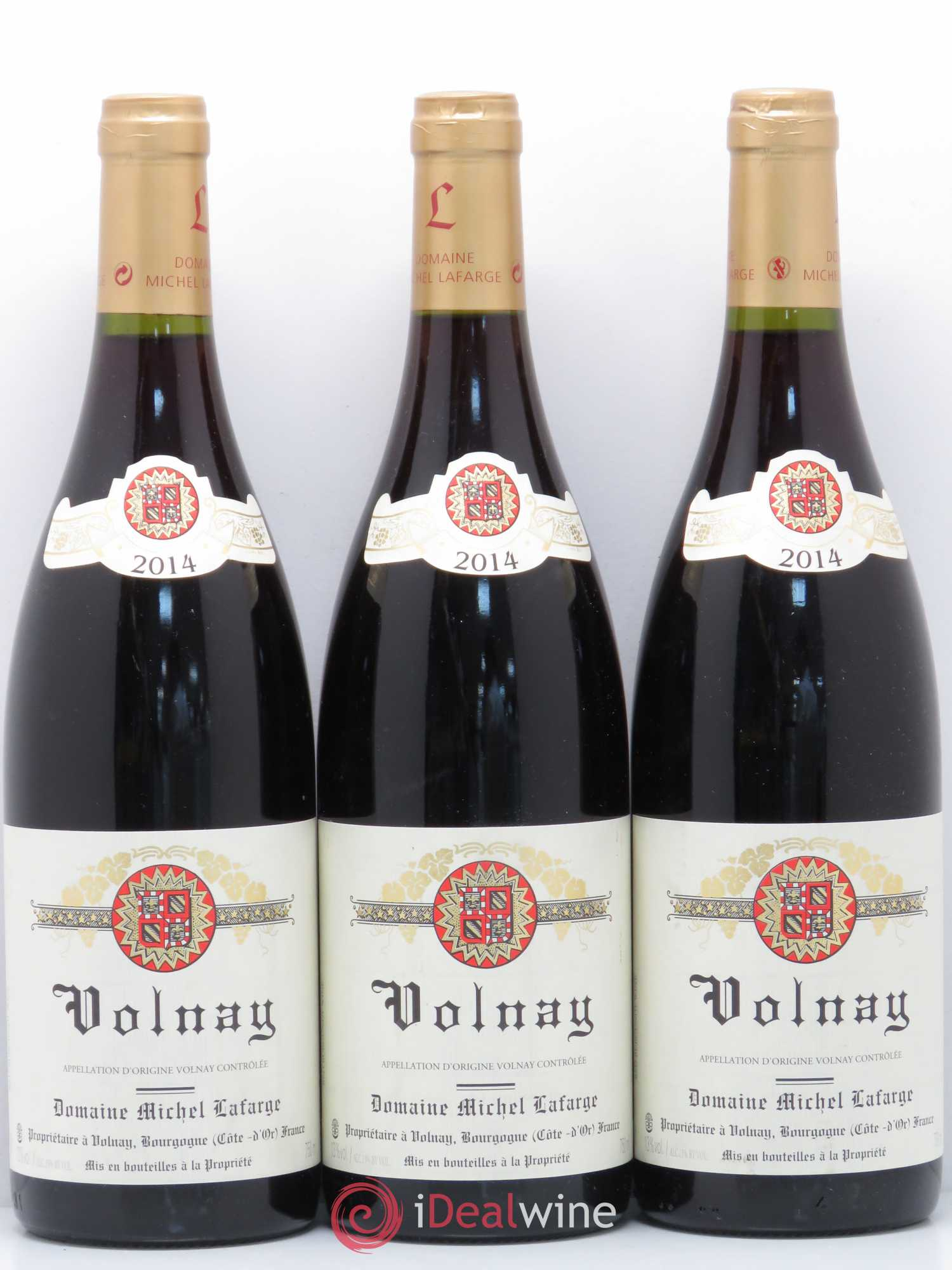 Volnay Lafarge (Domaine)  2014 - Lot of 3 Bottles