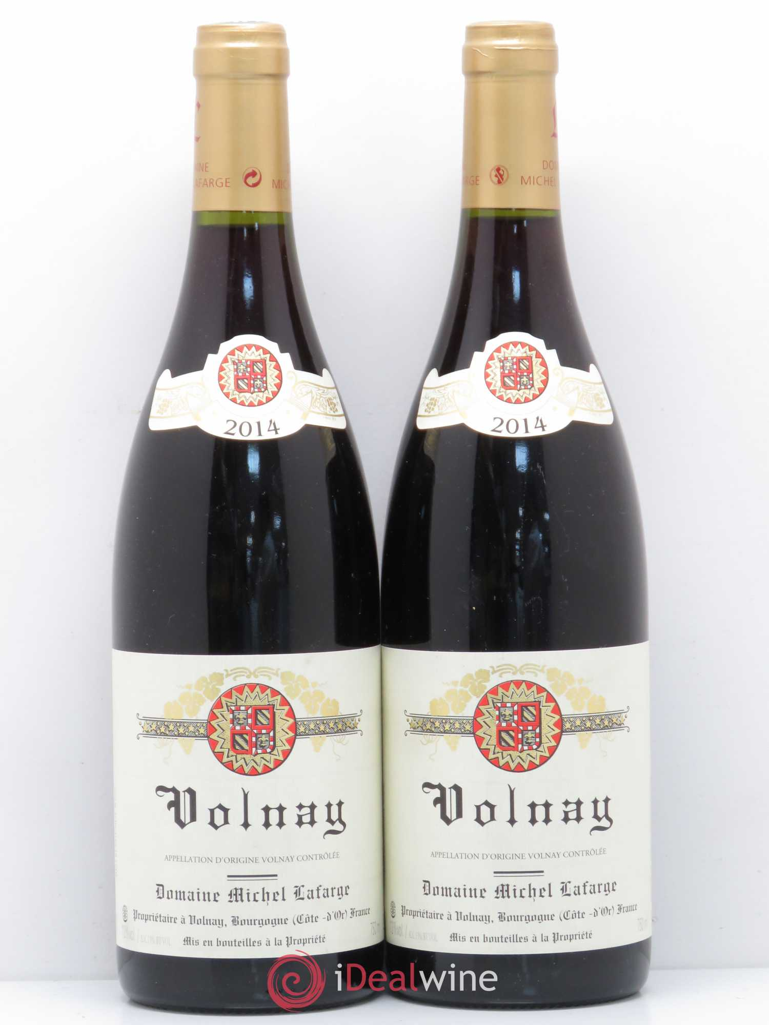 Volnay Lafarge (Domaine)  2014 - Lot of 2 Bottles