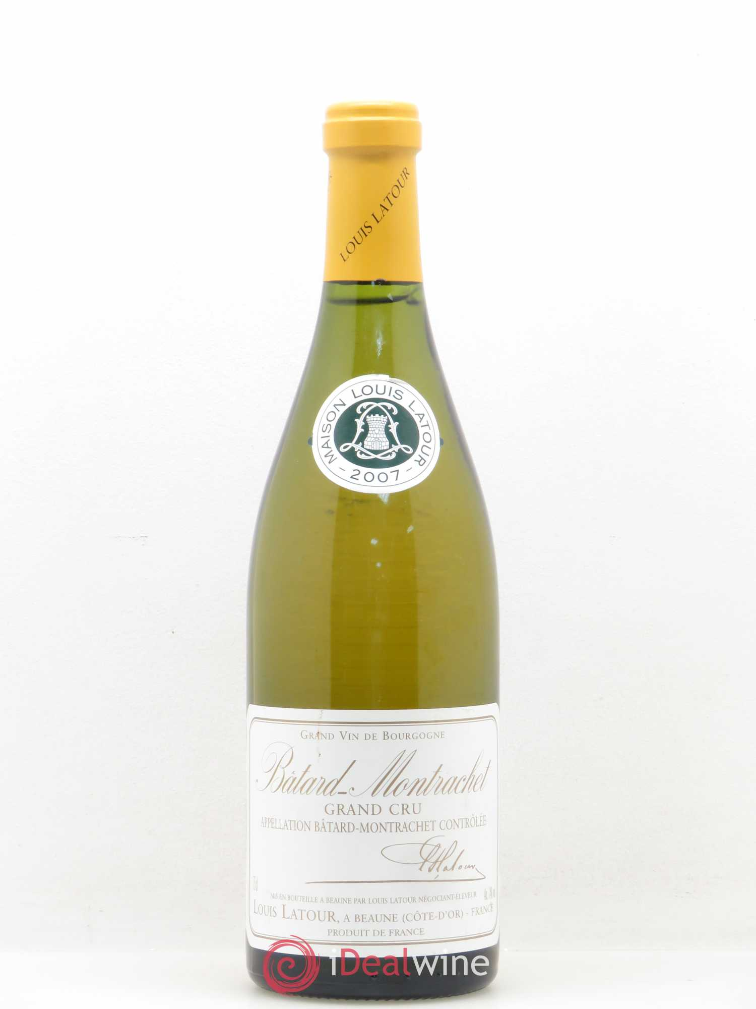 Bâtard-Montrachet Grand Cru Louis Latour  2007 - Lot of 1 Bottle