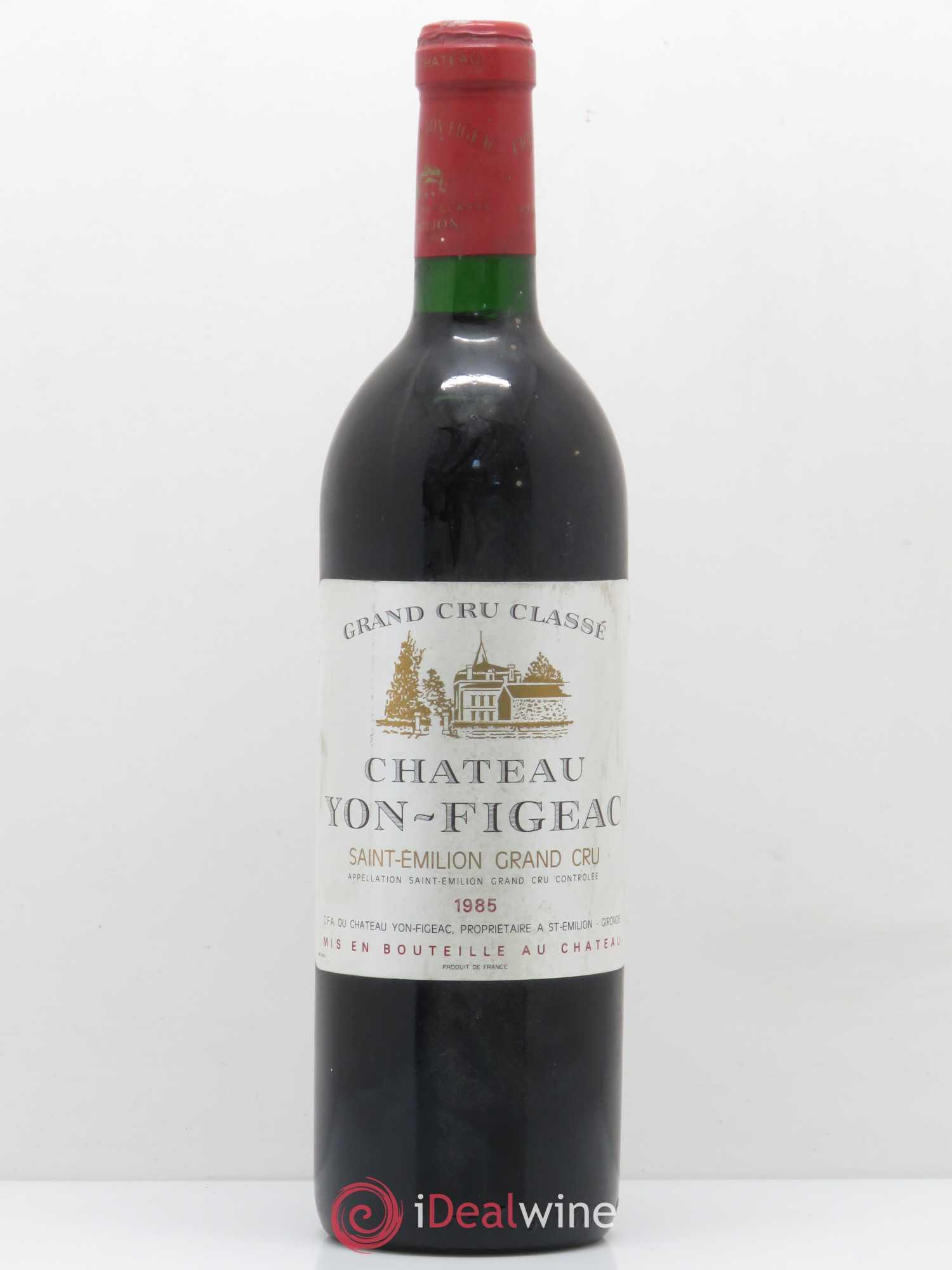 Château Yon Figeac Grand Cru Classé 1985