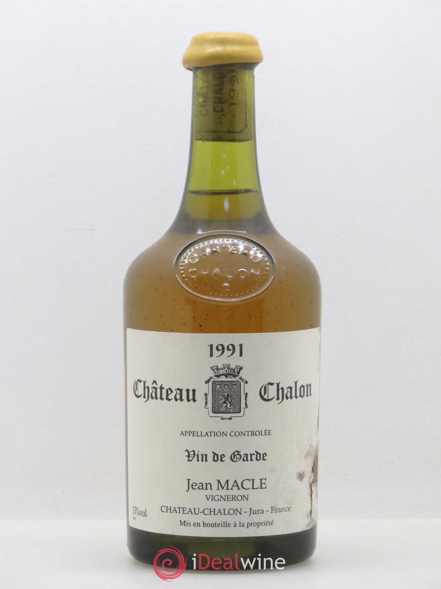 Château-Chalon Jean Macle  1991 - Lot of 1 Bottle
