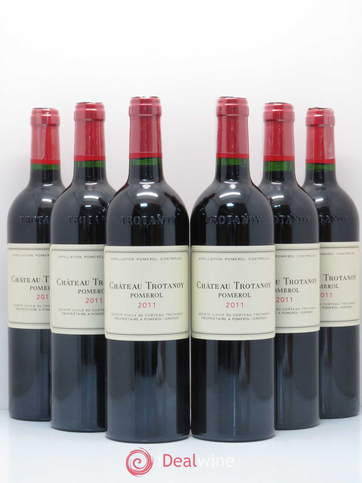 Château Trotanoy  2011 - Lot of 6 Bottles