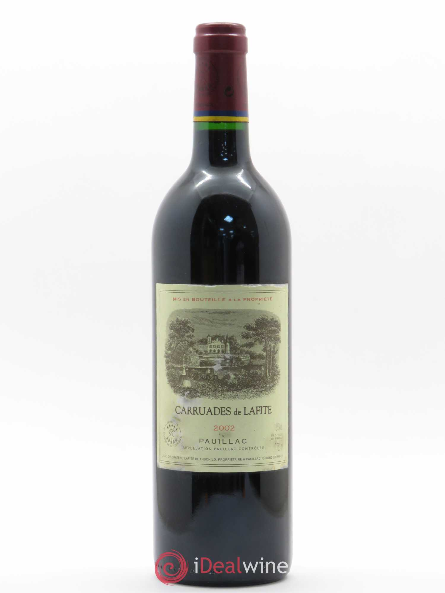 Carruades de Lafite Rothschild Second vin  2002 - Lot of 1 Bottle