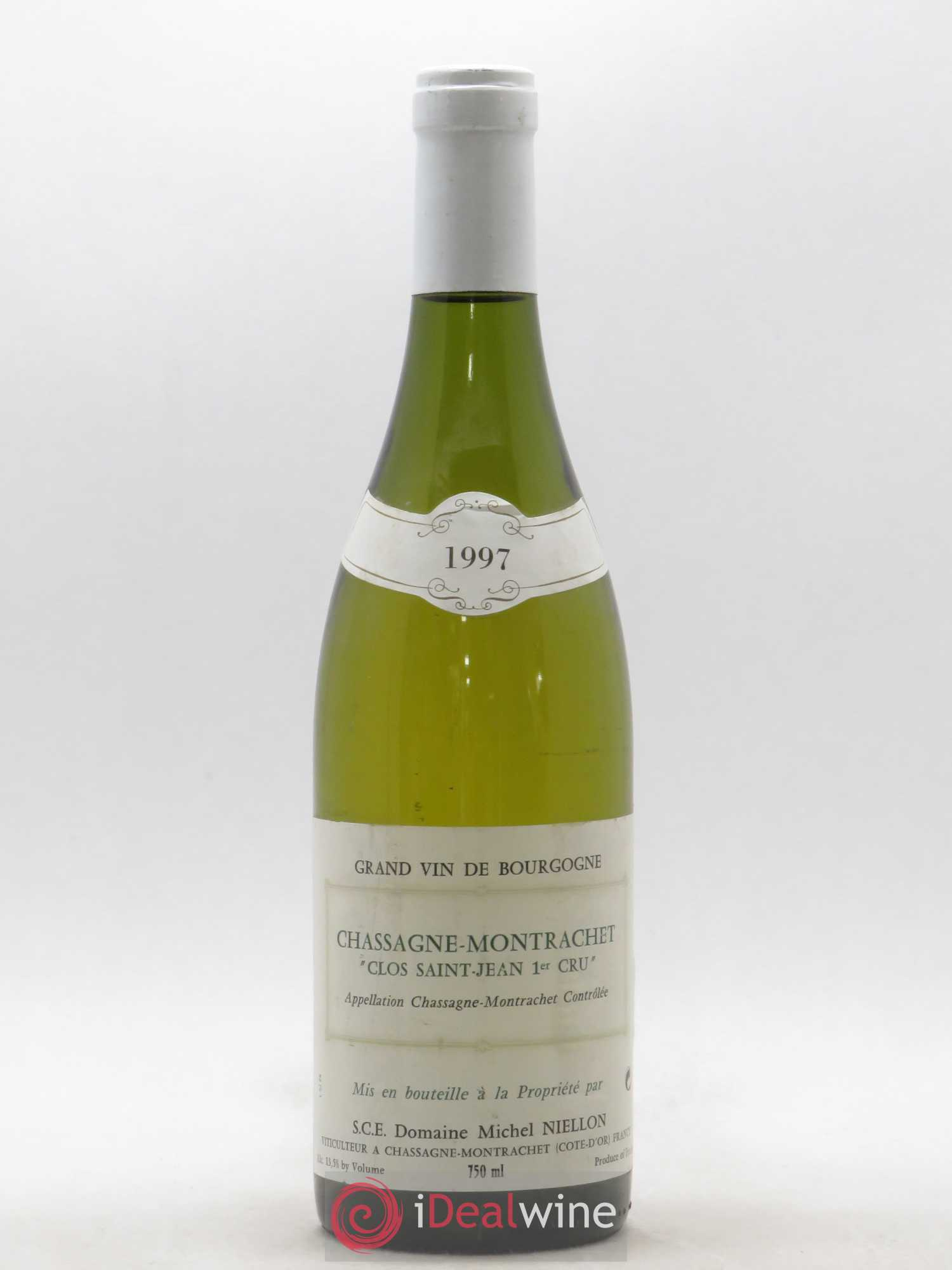 Chassagne-Montrachet 1er Cru Clos Saint Jean Michel Niellon (Domaine)  1997 - Lot of 1 Bottle