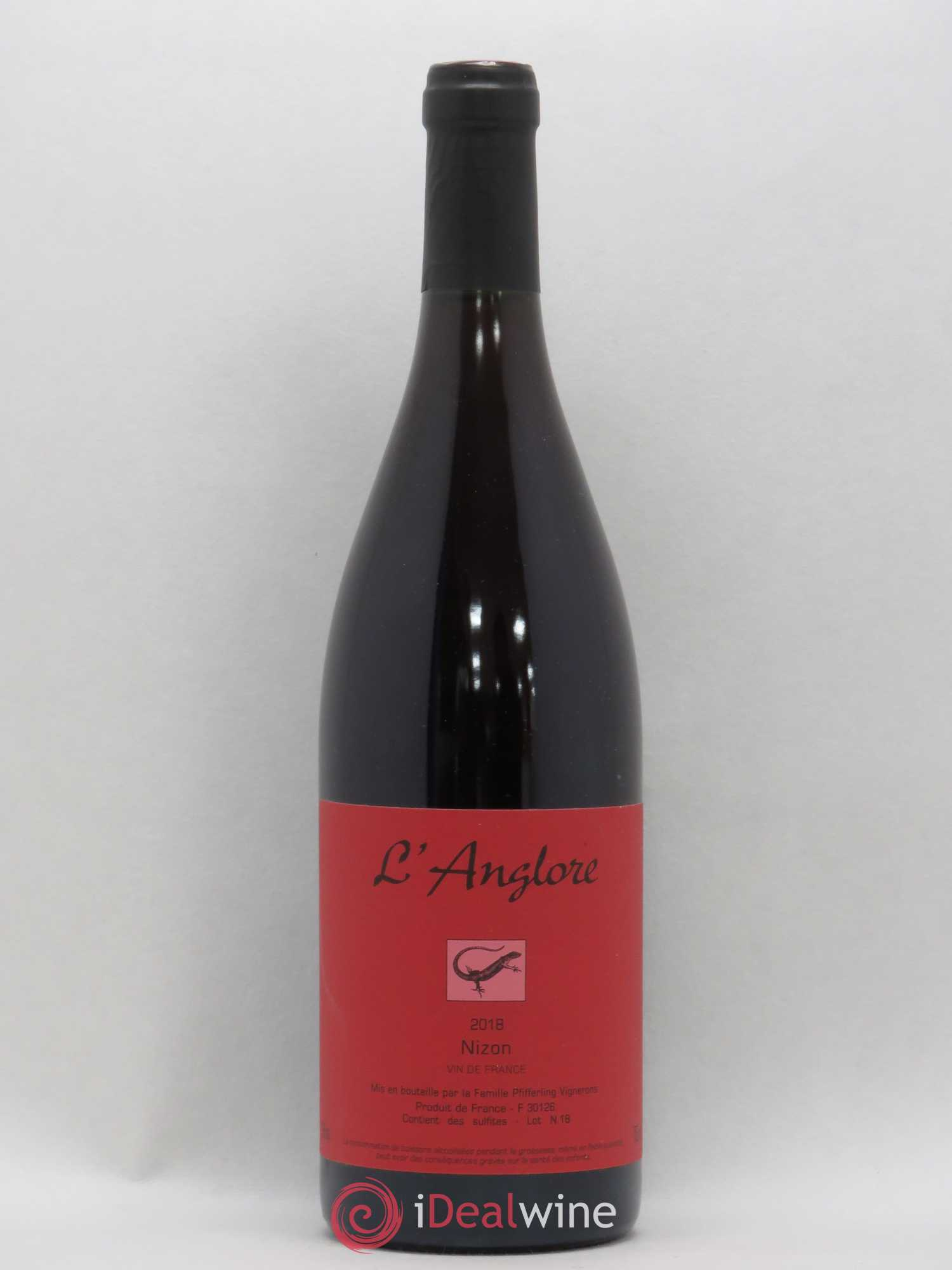 Vin de France Nizon L'Anglore  2018 - Lot of 1 Bottle