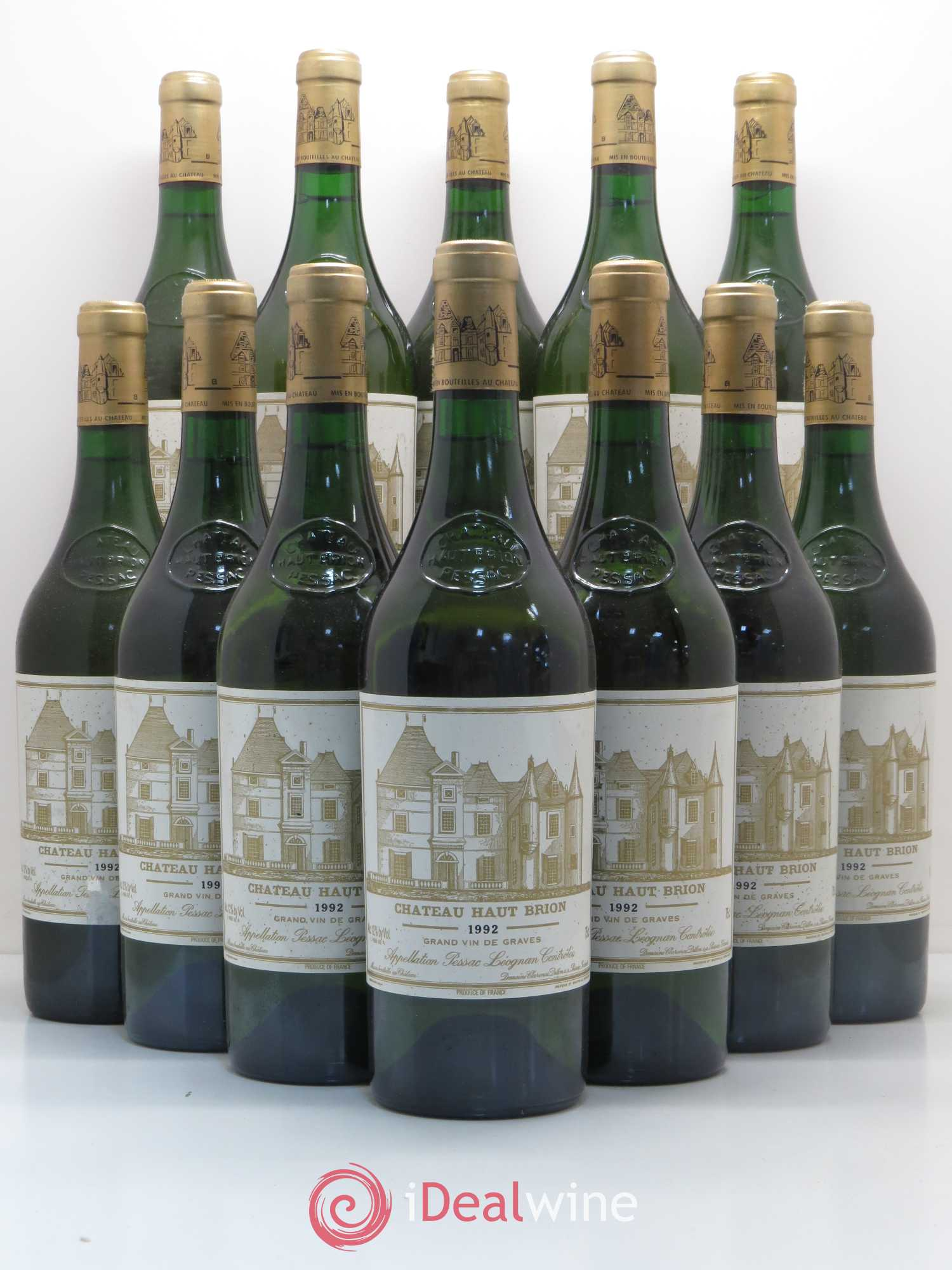 Château Haut Brion  1992 - Lot of 12 Bottles