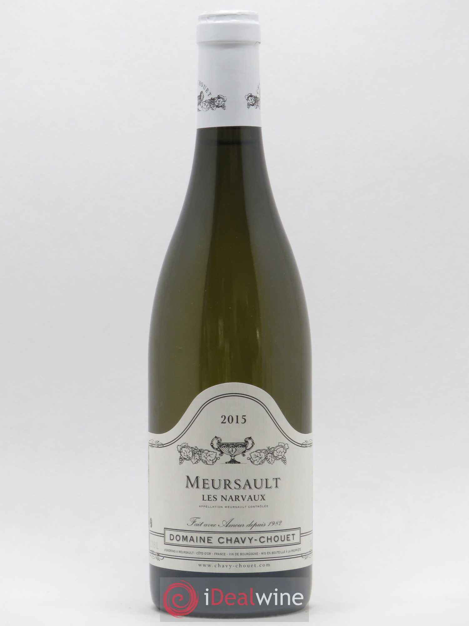 Meursault Les Narvaux Chavy-Chouet  2015 - Lot of 1 Bottle