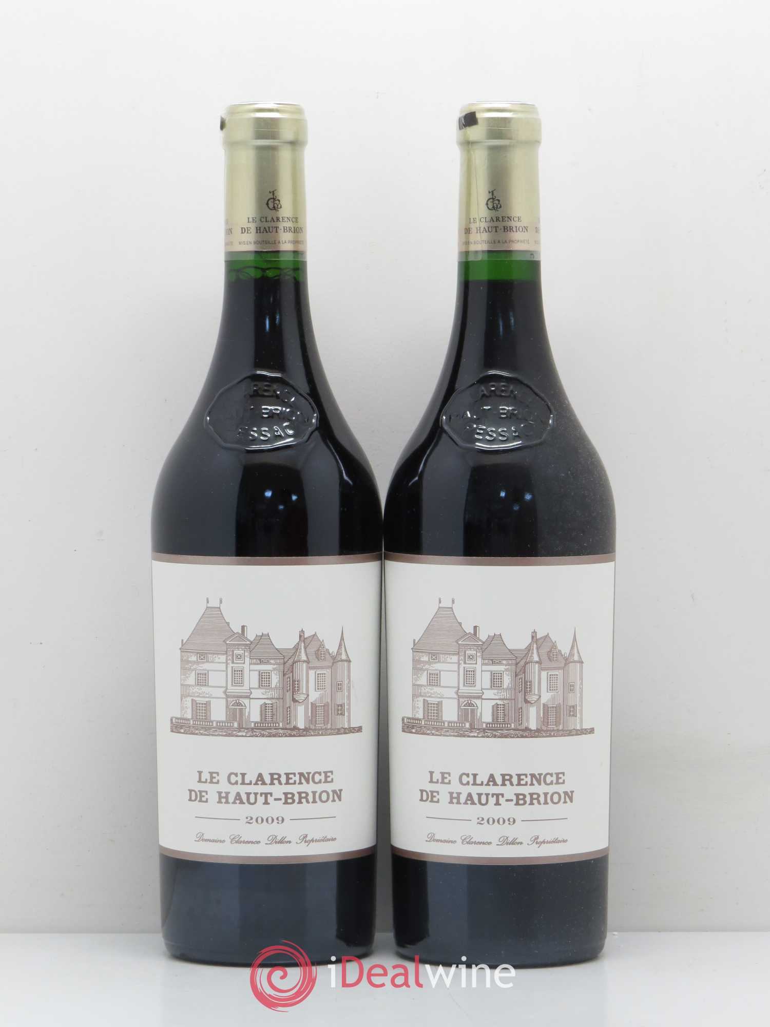 Clarence (Bahans) de Haut-Brion Second Vin  2009 - Lot of 2 Bottles