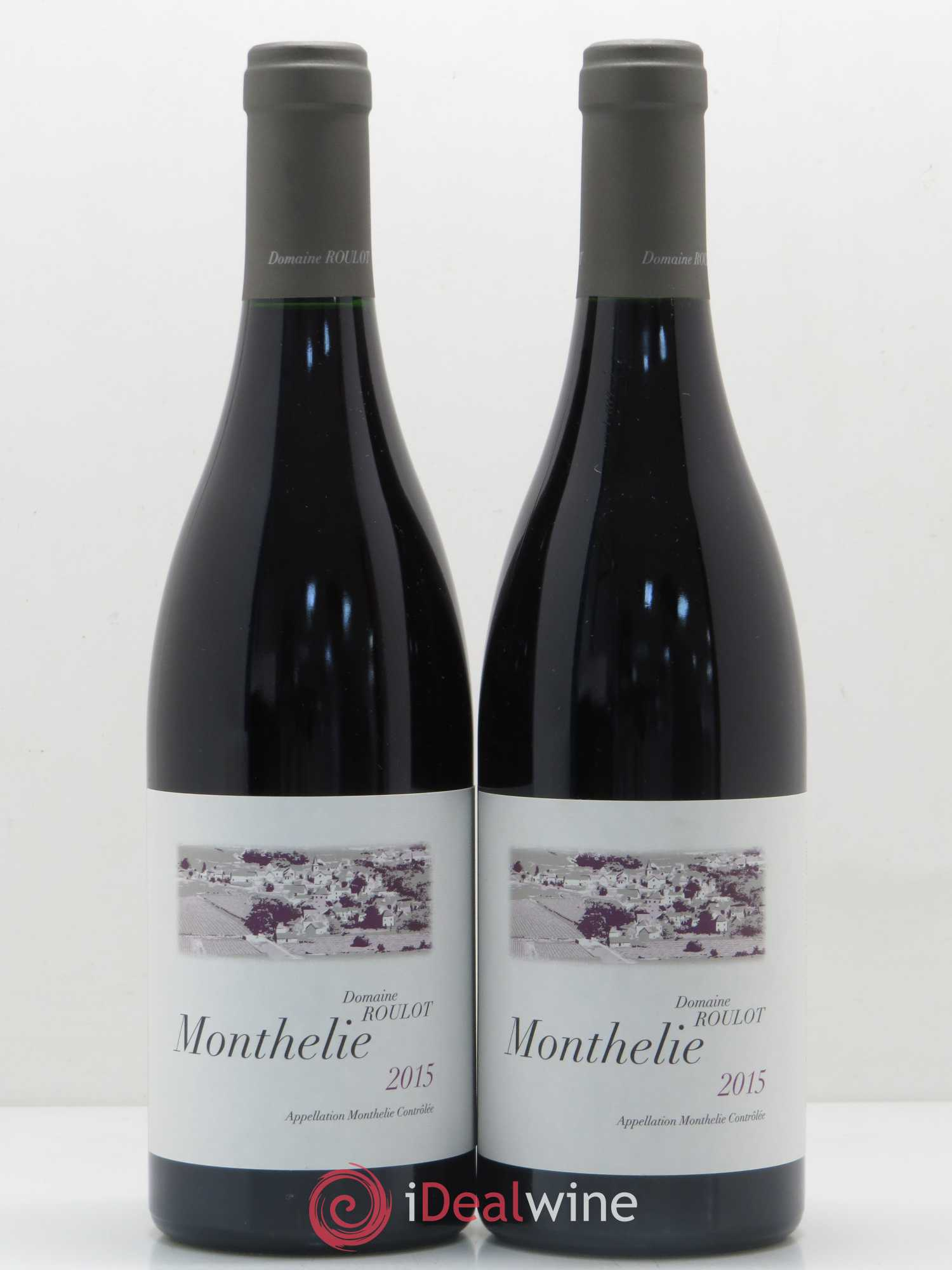 Monthelie Roulot (Domaine)  2015 - Lot of 2 Bottles