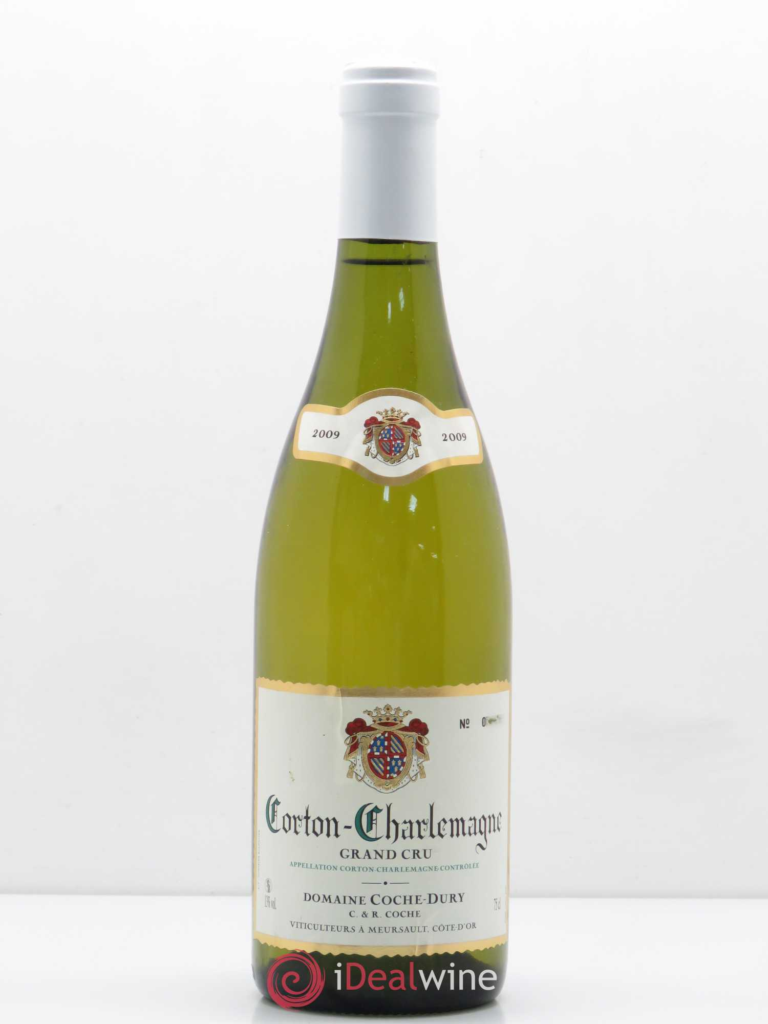 Corton-Charlemagne Grand Cru Coche Dury (Domaine) (Serial number scratched) 2009 - Lot of 1 Bottle