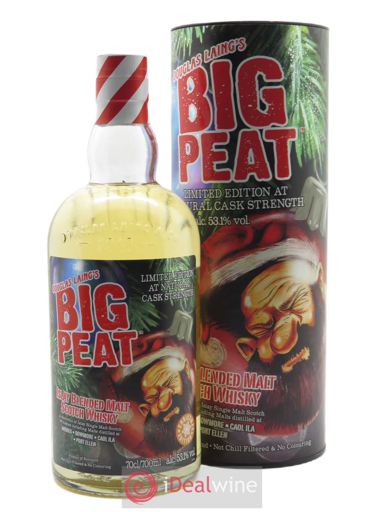 Big Peat 2020 Christmas Edition (70 cl)  - Lot de 1 Bouteille