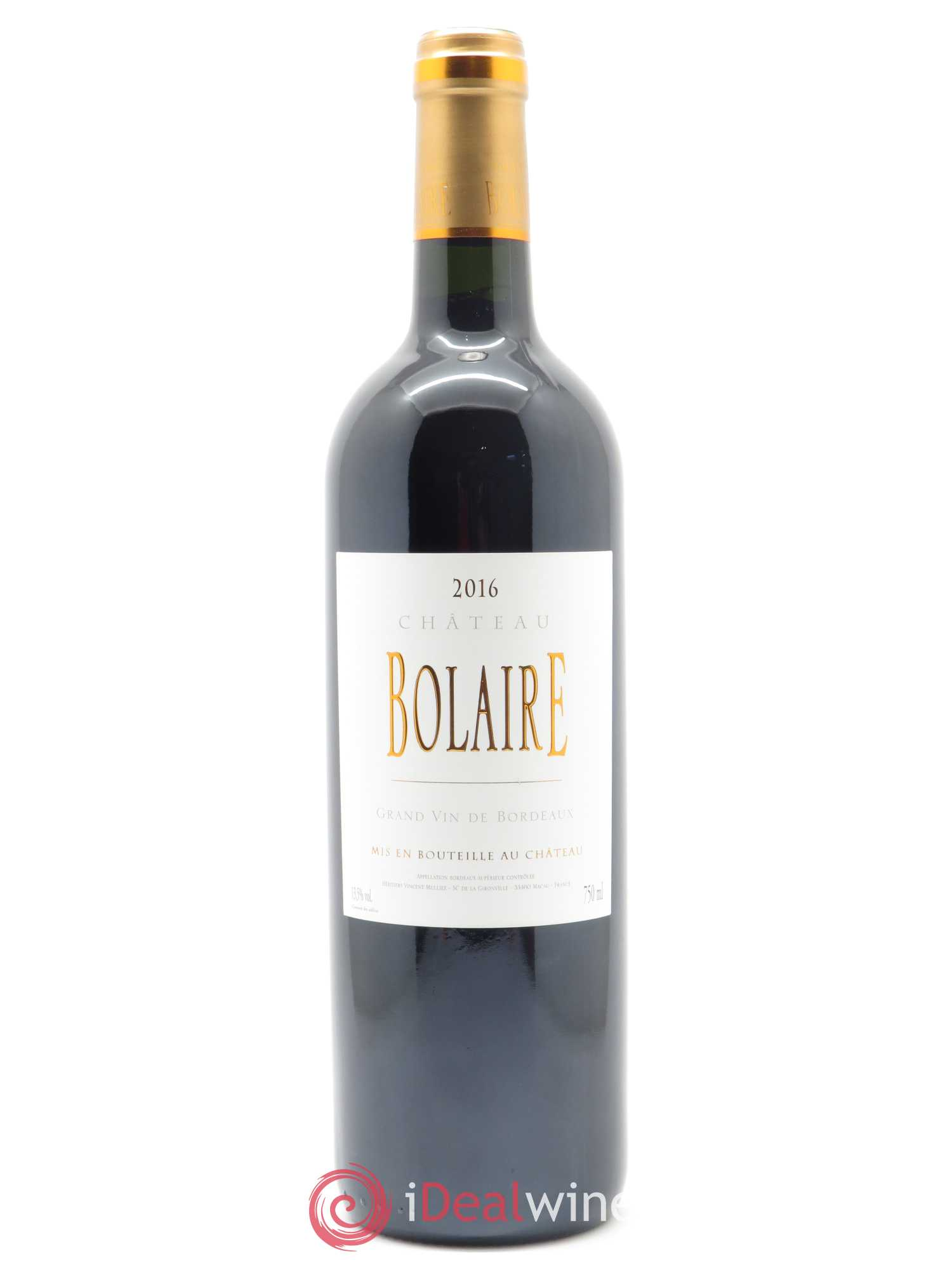 Bolaire  2016 - Lot of 1 Bottle