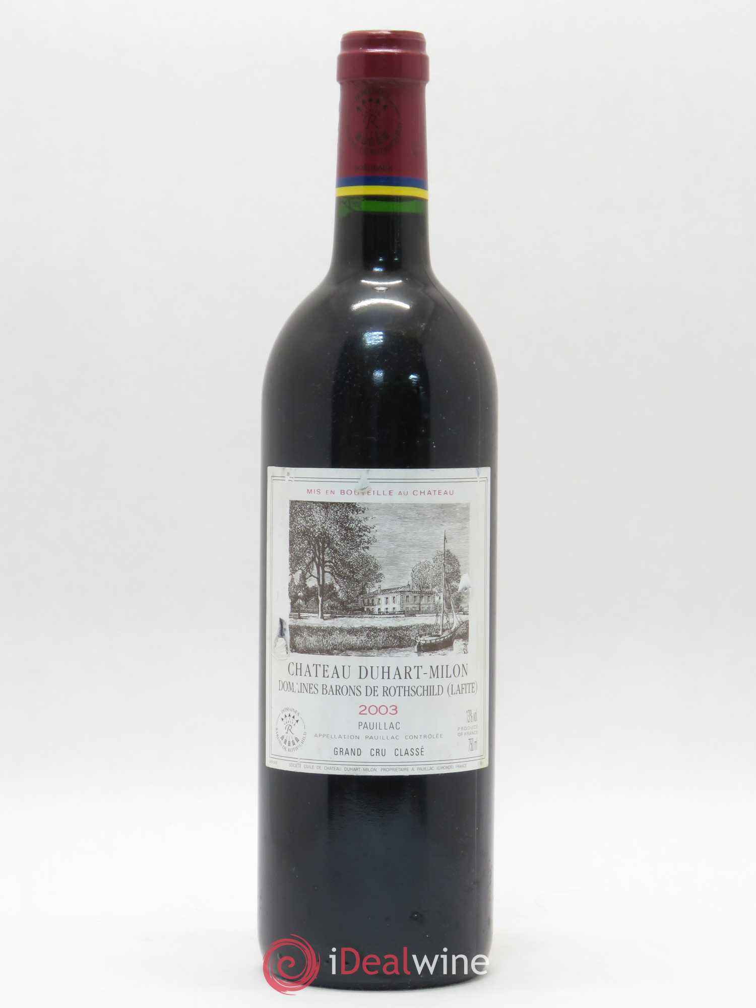 Château Duhart-Milon 4ème Grand Cru Classé  2003 - Lot of 1 Bottle