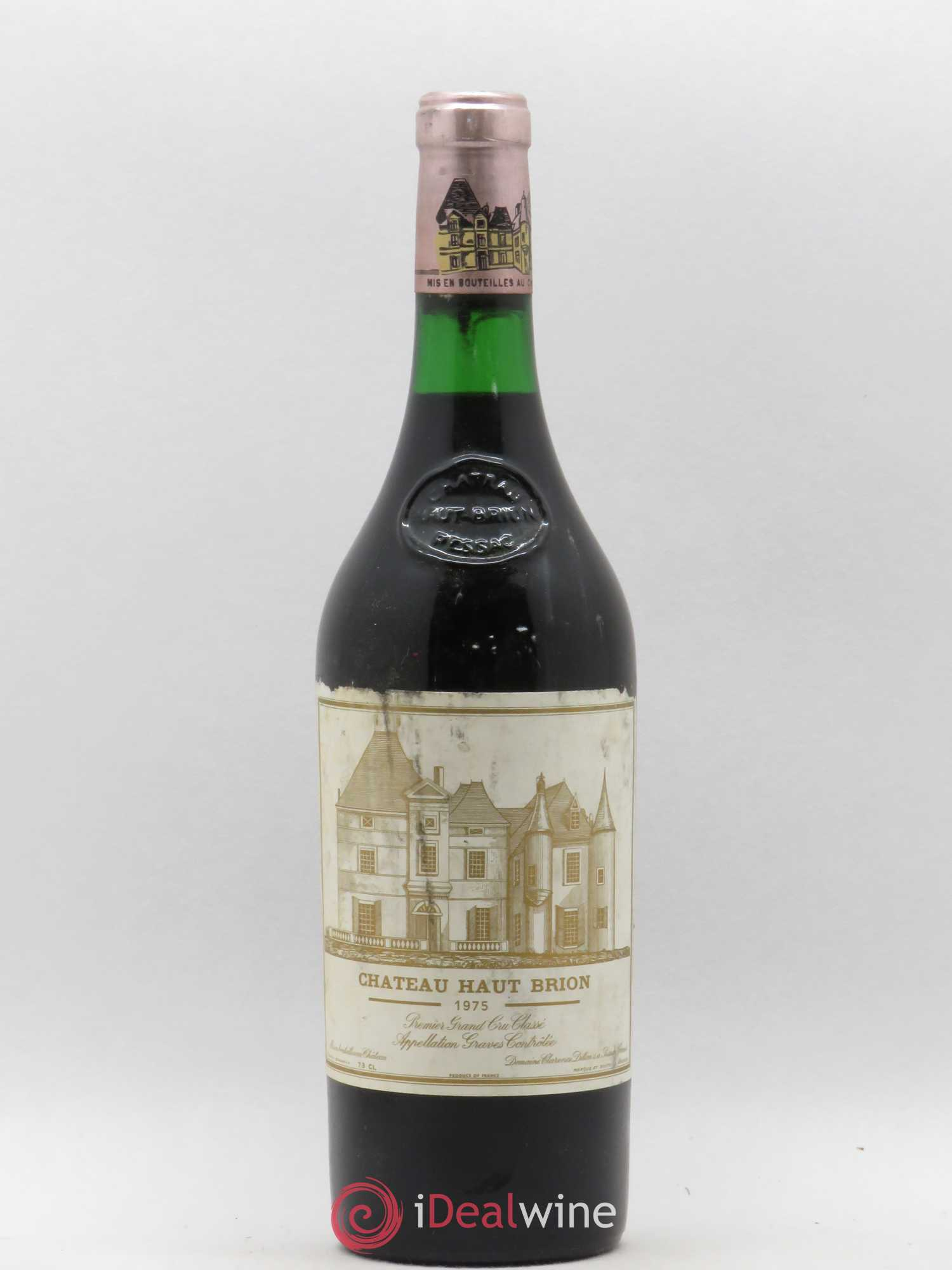 Château Haut Brion 1er Grand Cru Classé  1975 - Lot of 1 Bottle