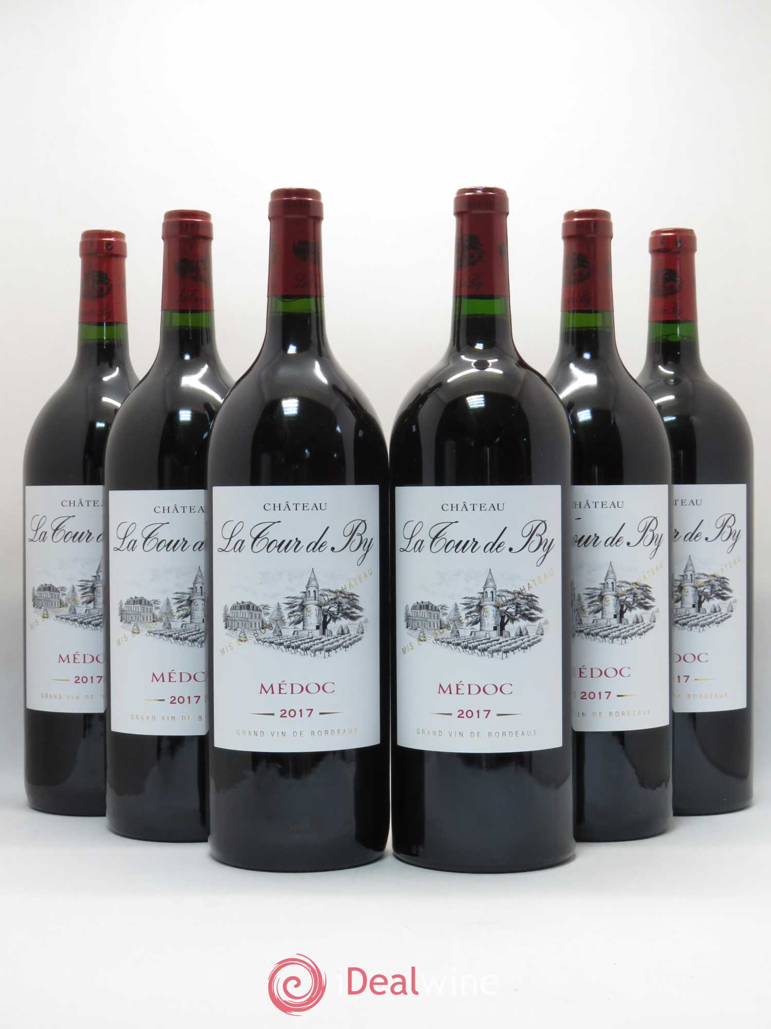 Château La Tour de By Cru Bourgeois  2017 - Lot de 6 Magnums