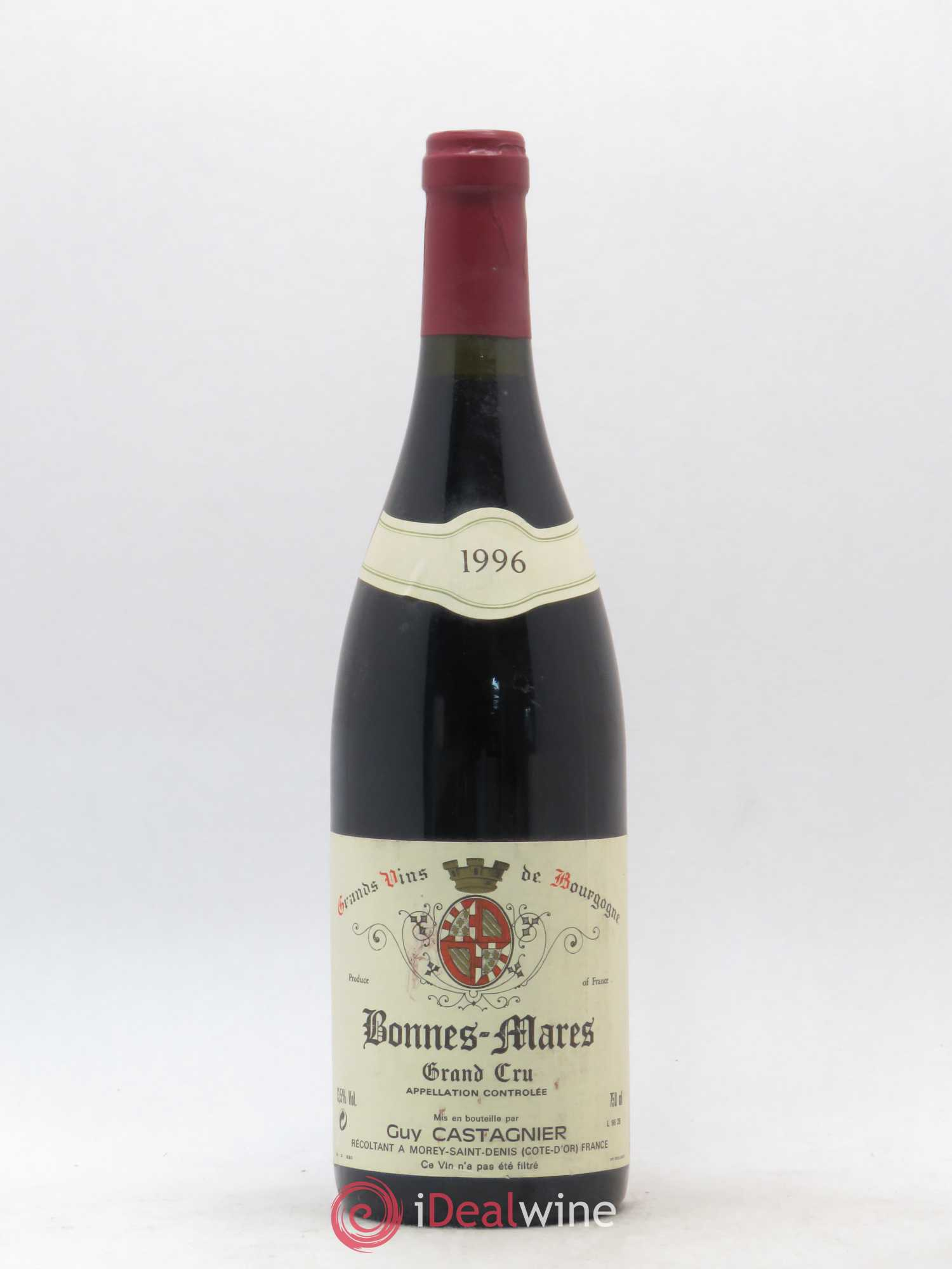 Bonnes-Mares Grand Cru Guy Castagnier 1996 - Lot of 1 Bottle