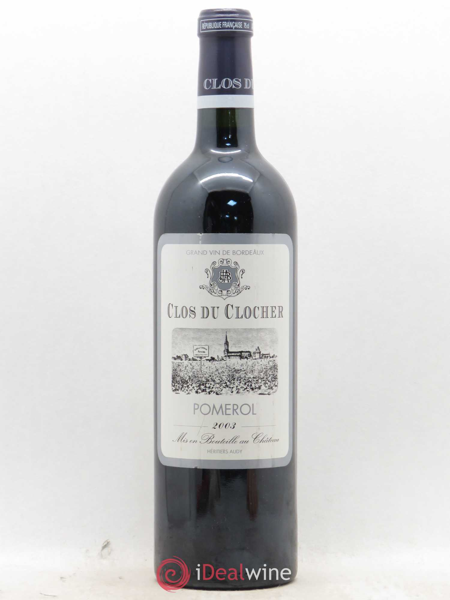 Clos du Clocher  2003 - Lot of 1 Bottle