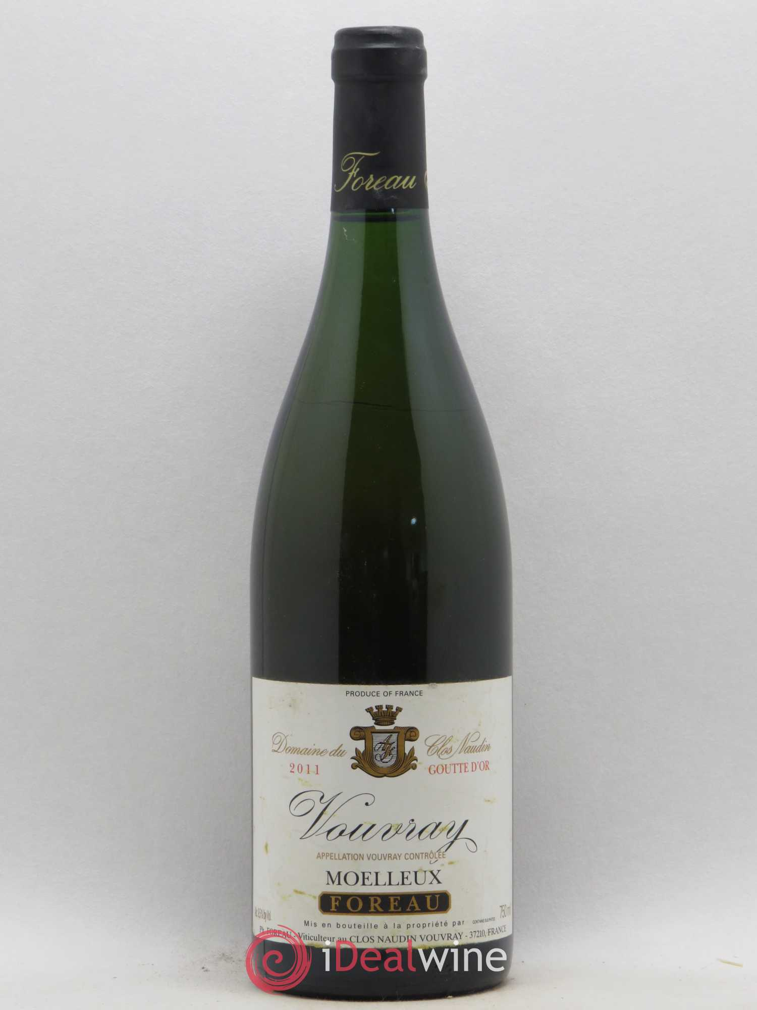 Vouvray Goutte d'Or Clos Naudin - Philippe Foreau