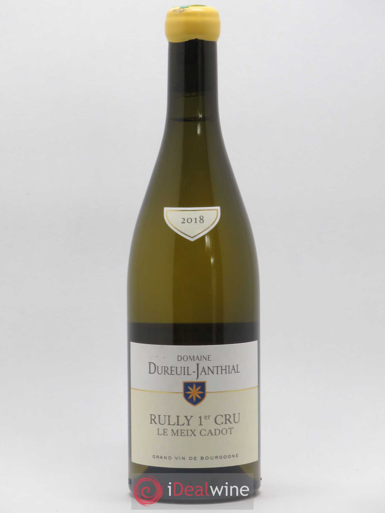 Rully 1er Cru Le Meix Cadot Vincent Dureuil-Janthial  2018 - Lot of 1 Bottle